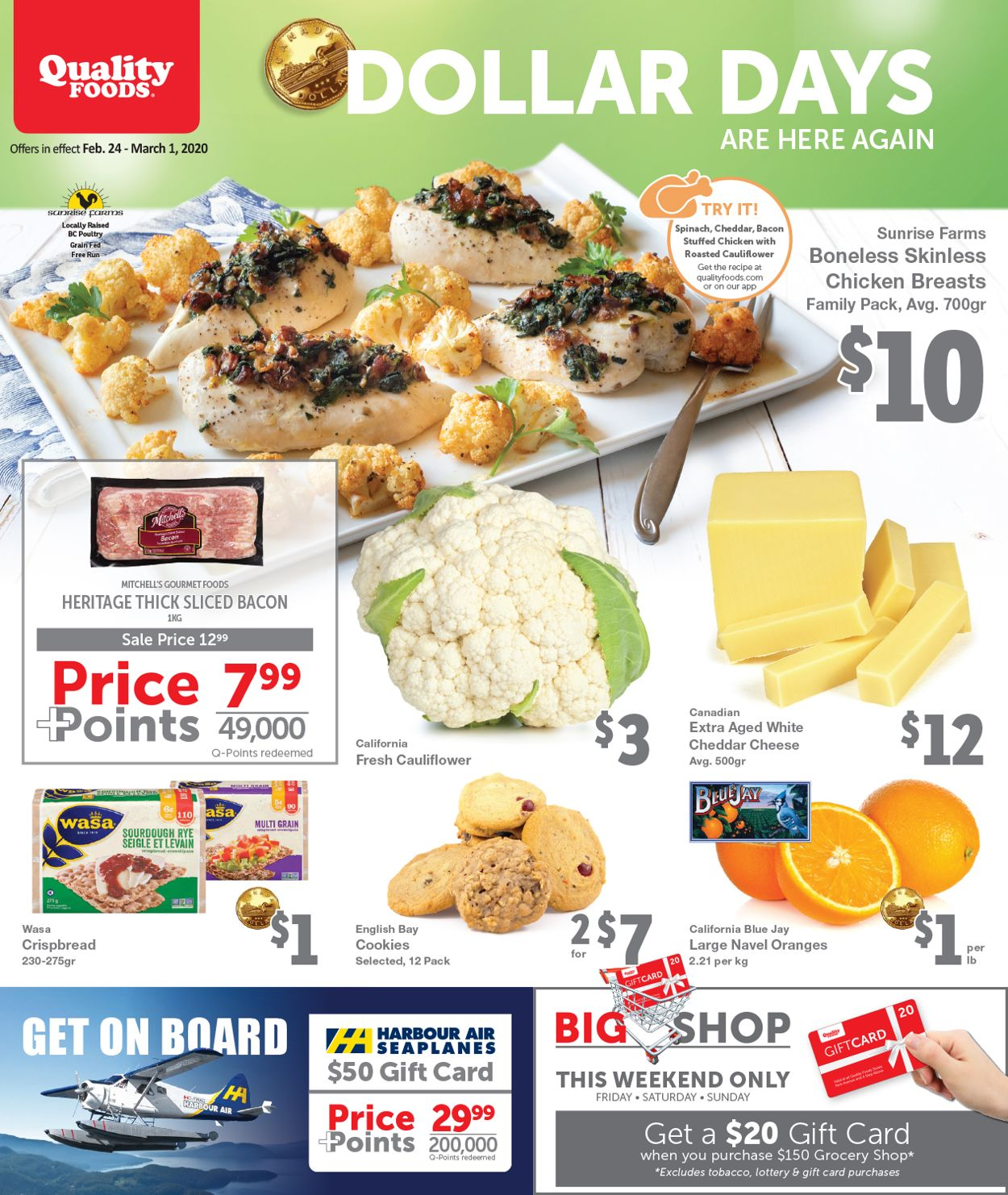 Quality Foods Flyer - 02/24-03/01/2020
