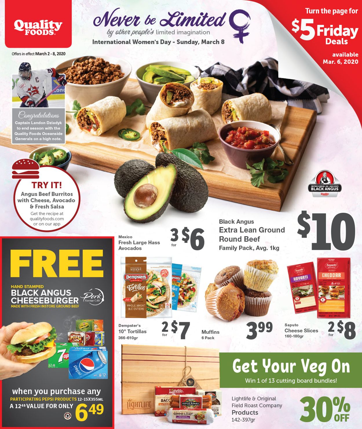 Quality Foods Flyer - 03/02-03/08/2020