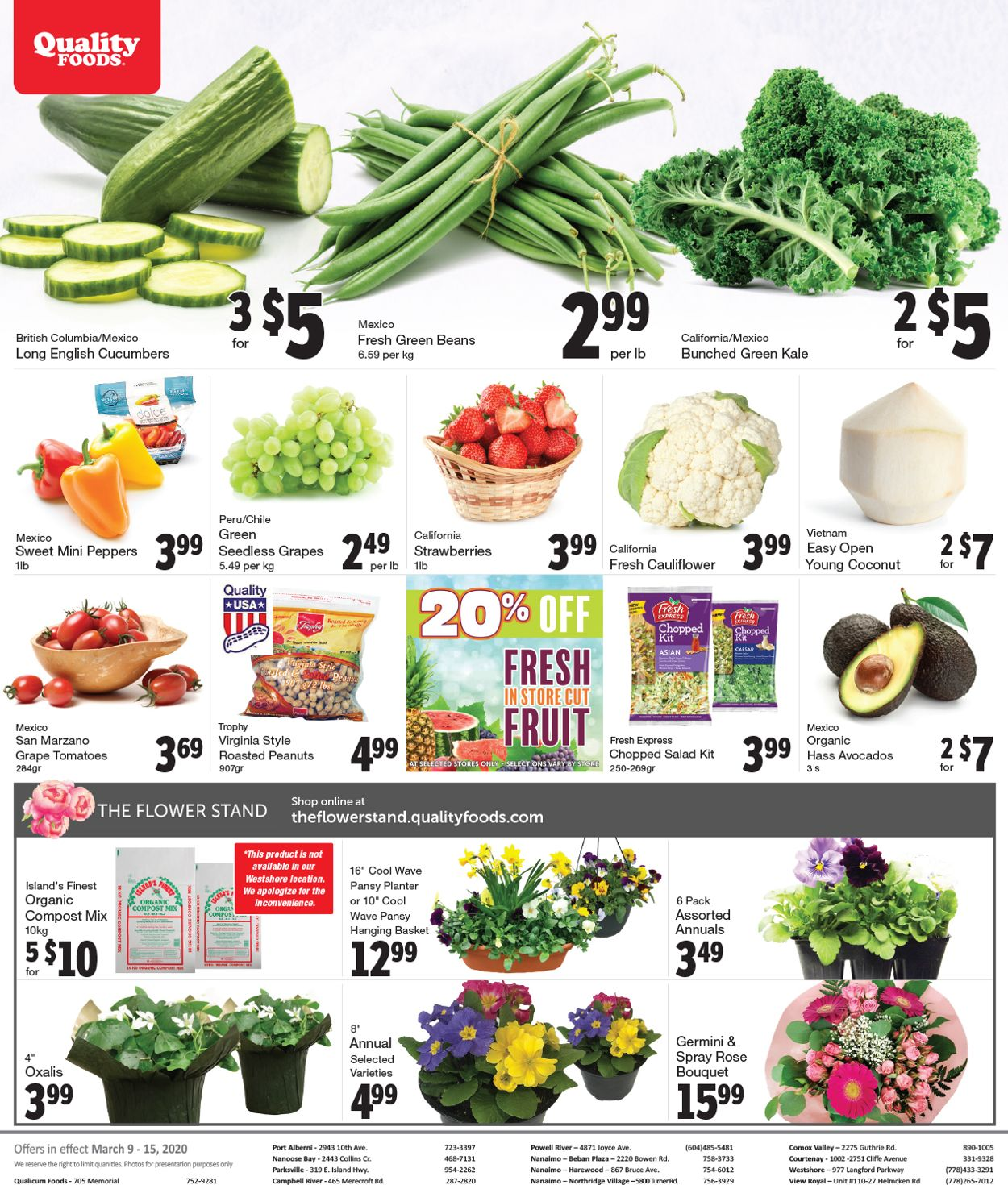 Quality Foods Flyer - 03/09-03/15/2020 (Page 7)