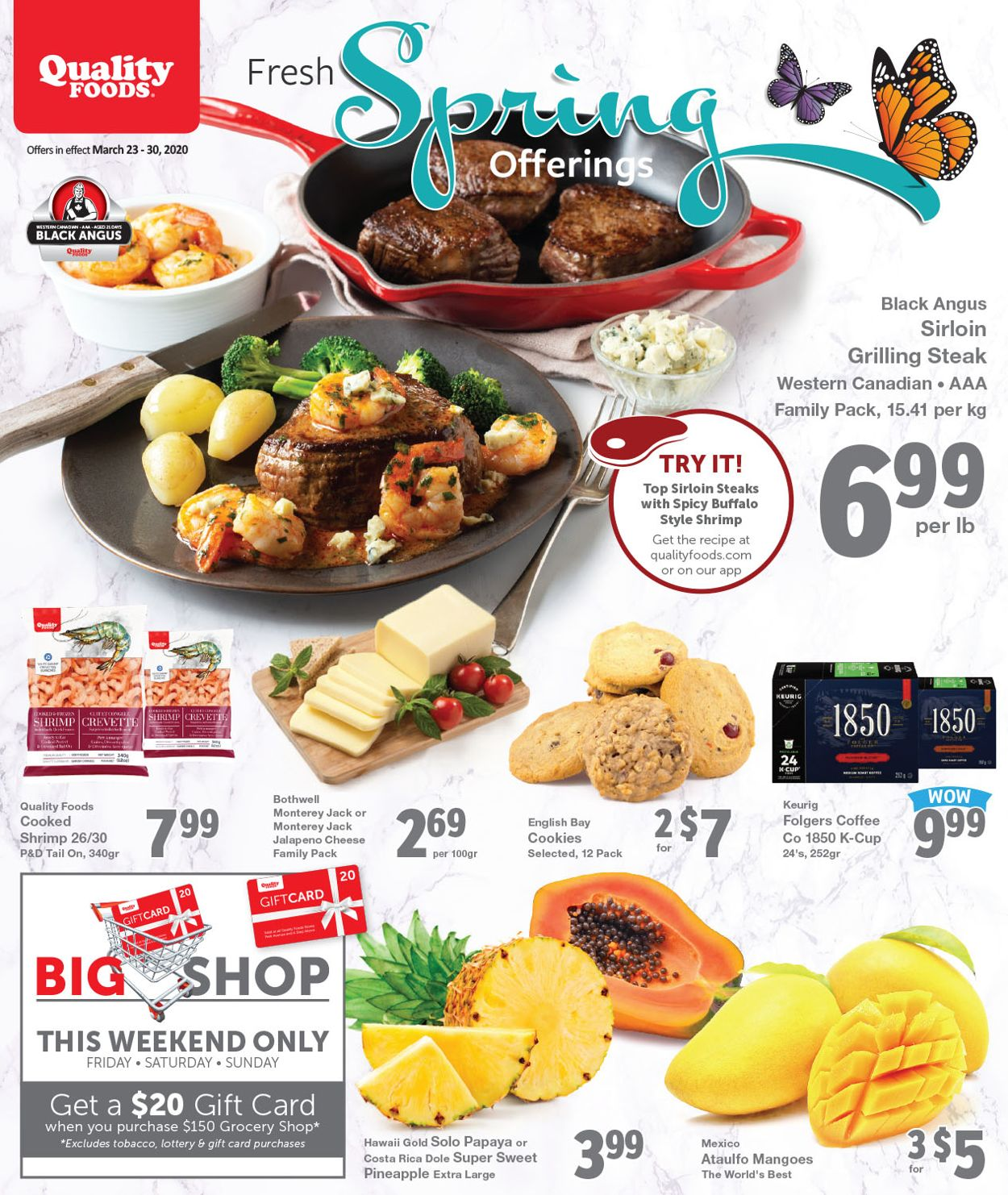 Quality Foods Flyer - 03/23-03/29/2020