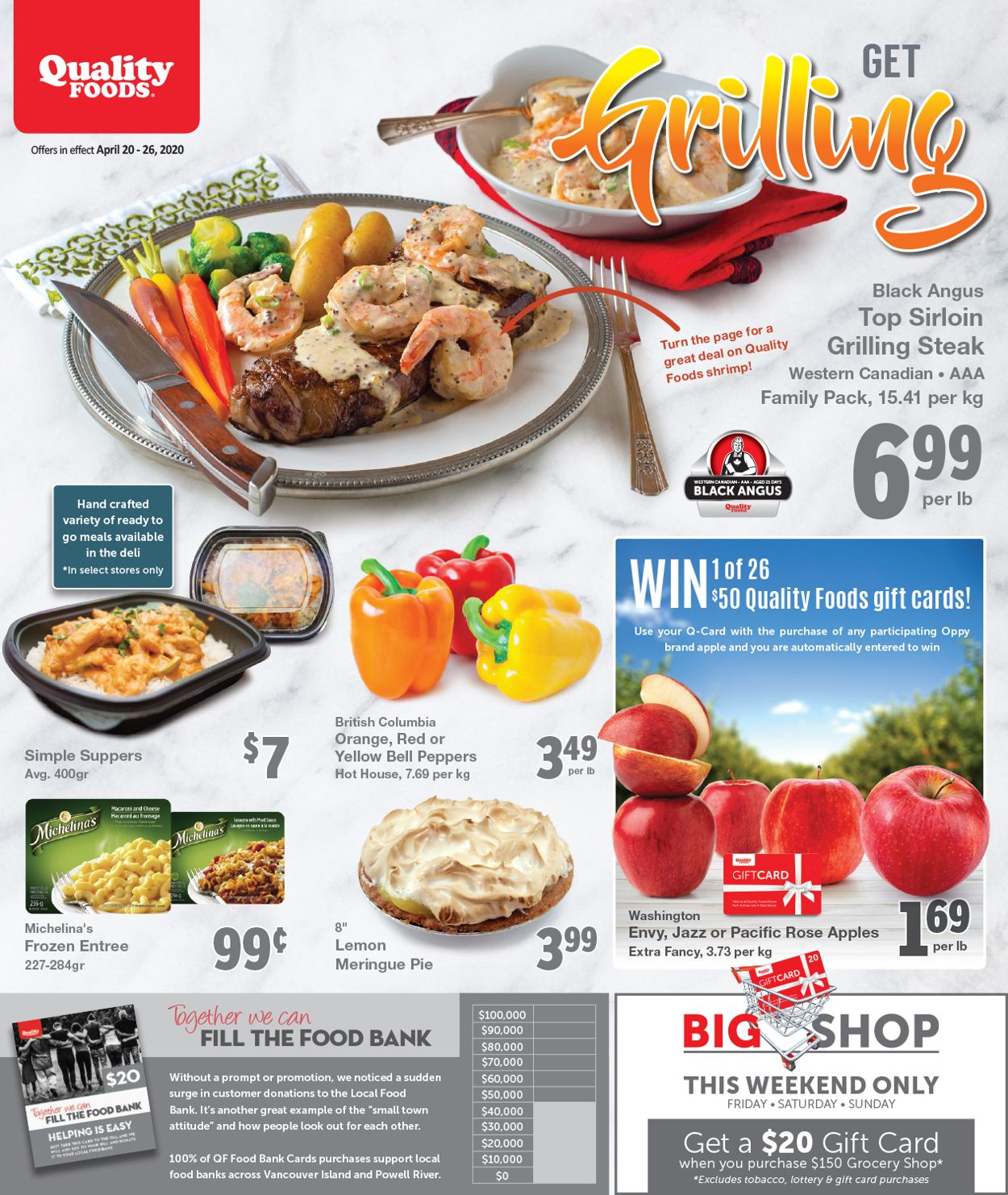 Quality Foods Flyer - 04/20-04/26/2020