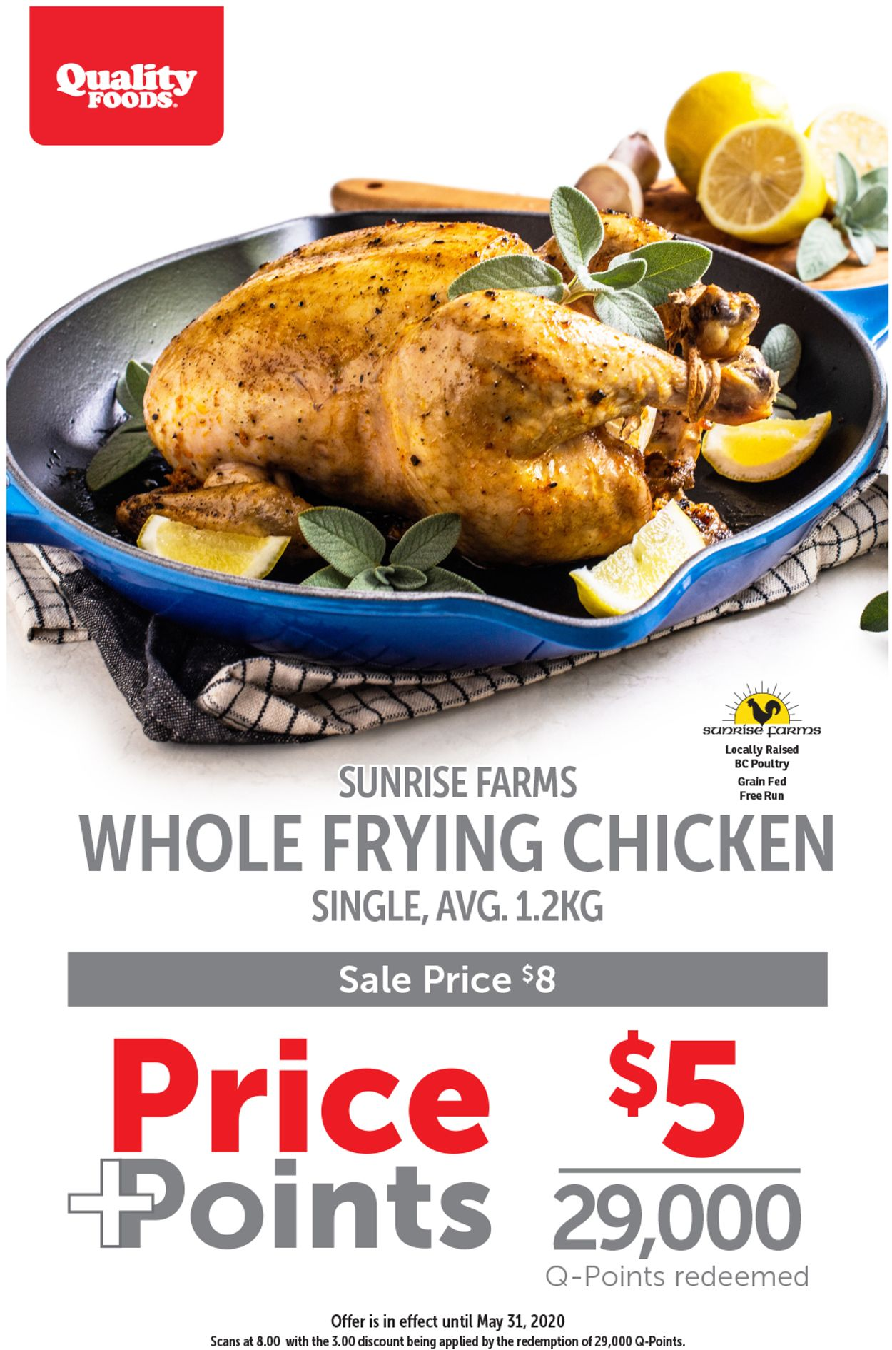 Quality Foods Flyer - 05/25-05/31/2020