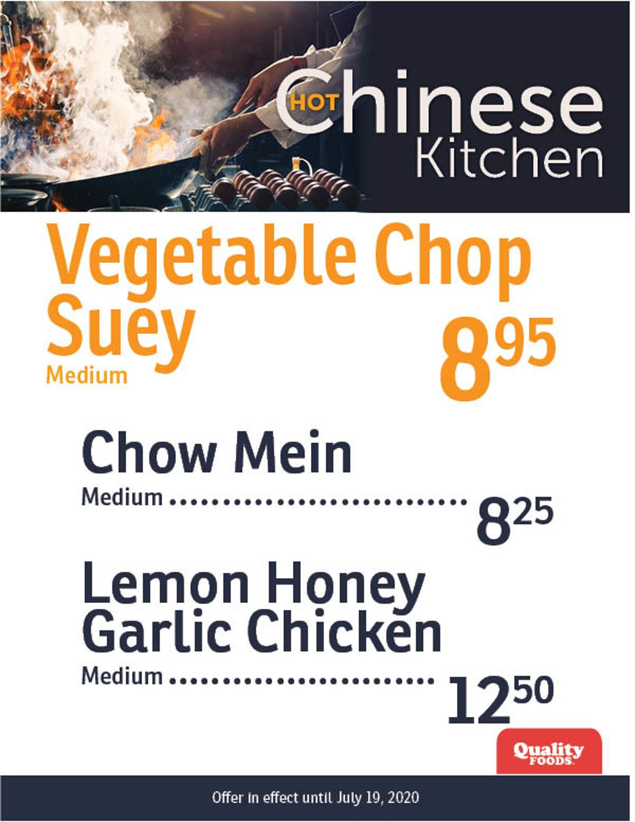 Quality Foods Flyer - 07/13-07/19/2020