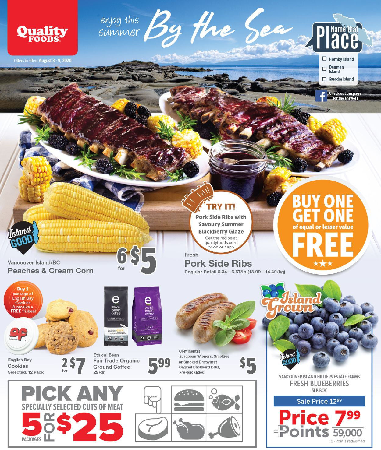 Quality Foods Flyer - 08/03-08/09/2020