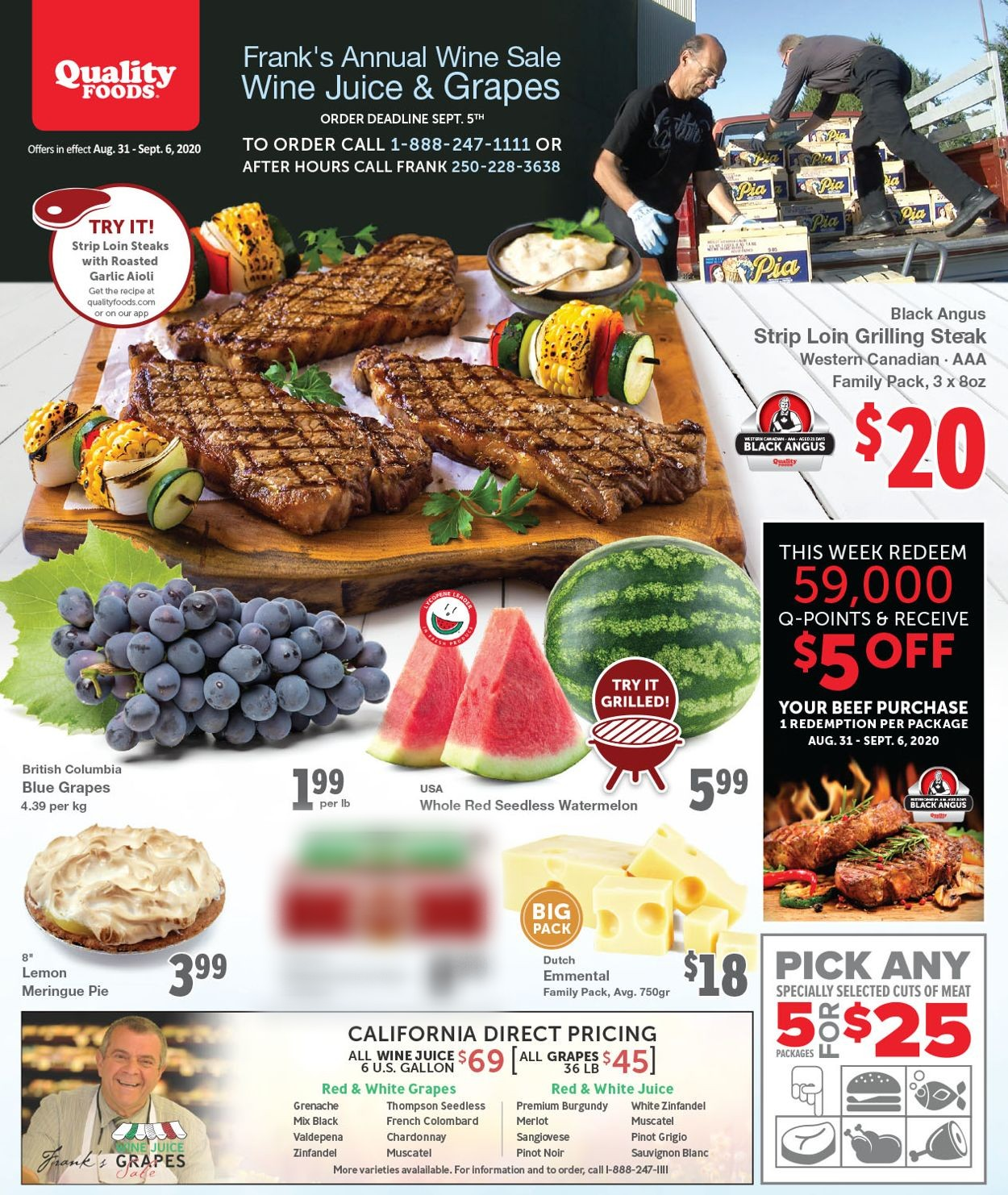 Quality Foods Flyer - 08/31-09/06/2020