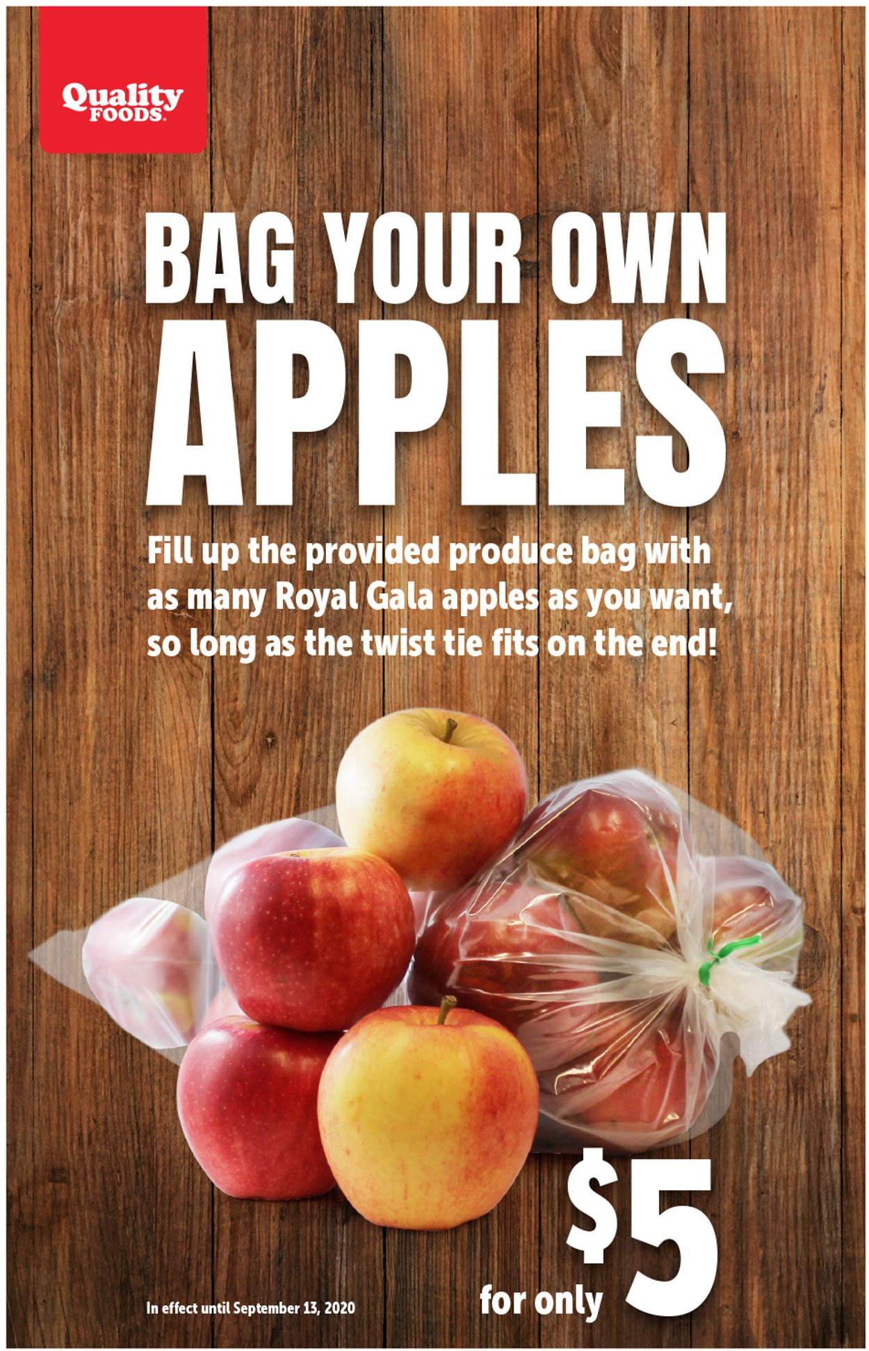 Quality Foods Flyer - 09/07-09/13/2020