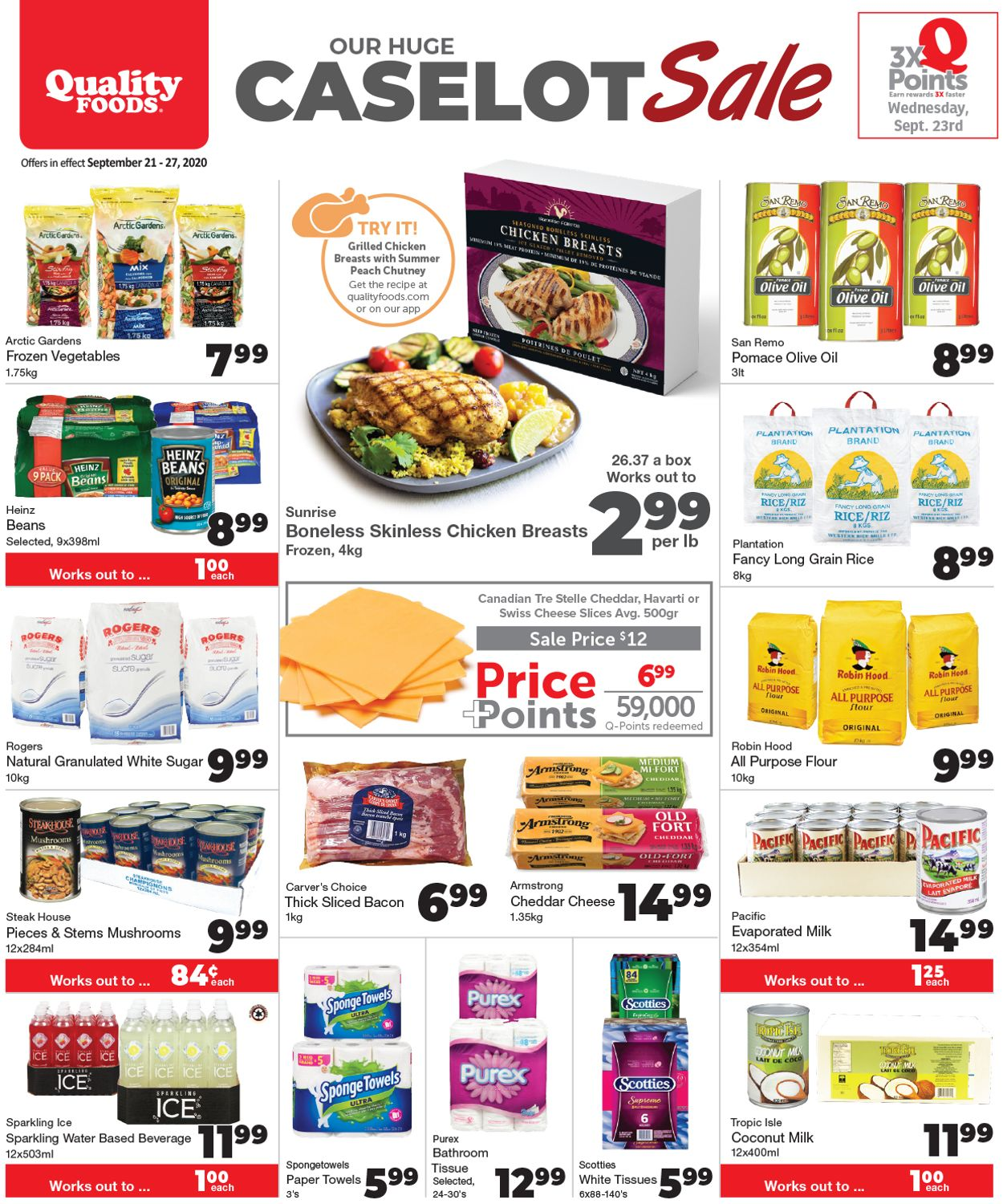 Quality Foods Flyer - 09/21-09/27/2020