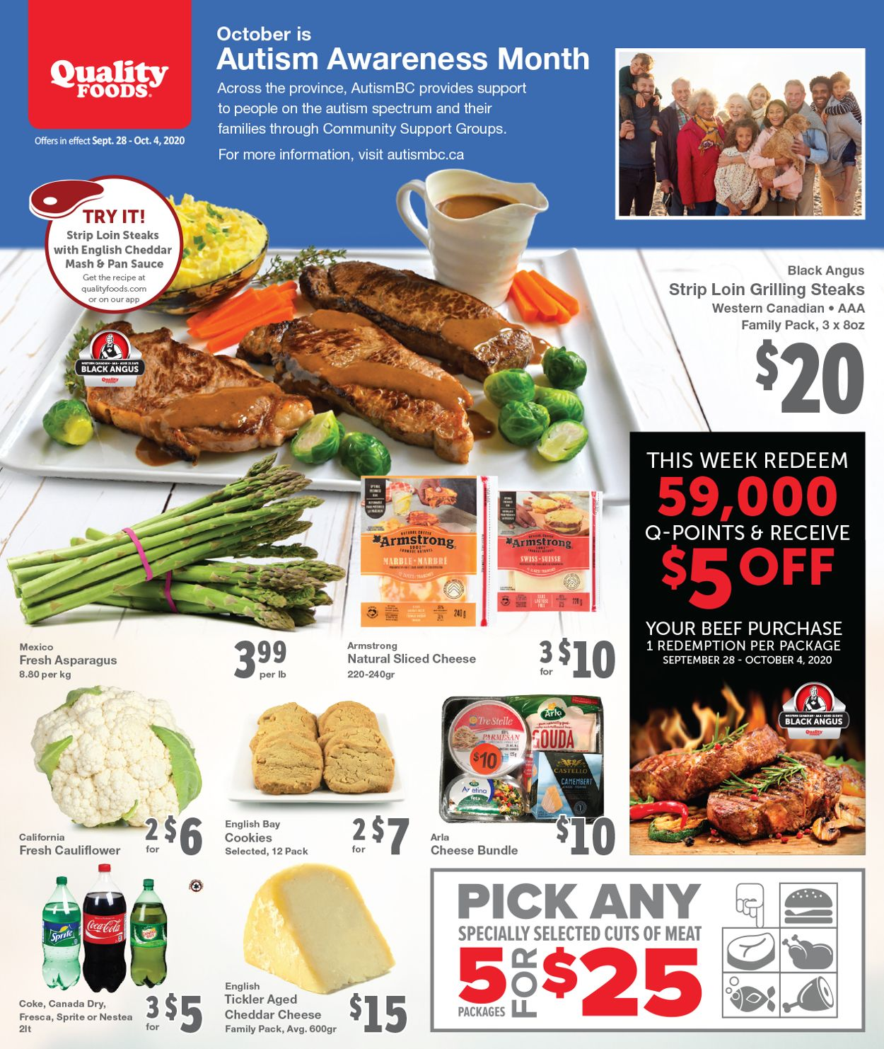 Quality Foods Flyer - 09/28-10/04/2020