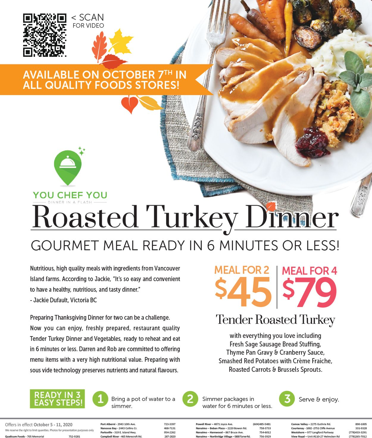 Quality Foods Flyer - 10/07-10/12/2020 (Page 2)