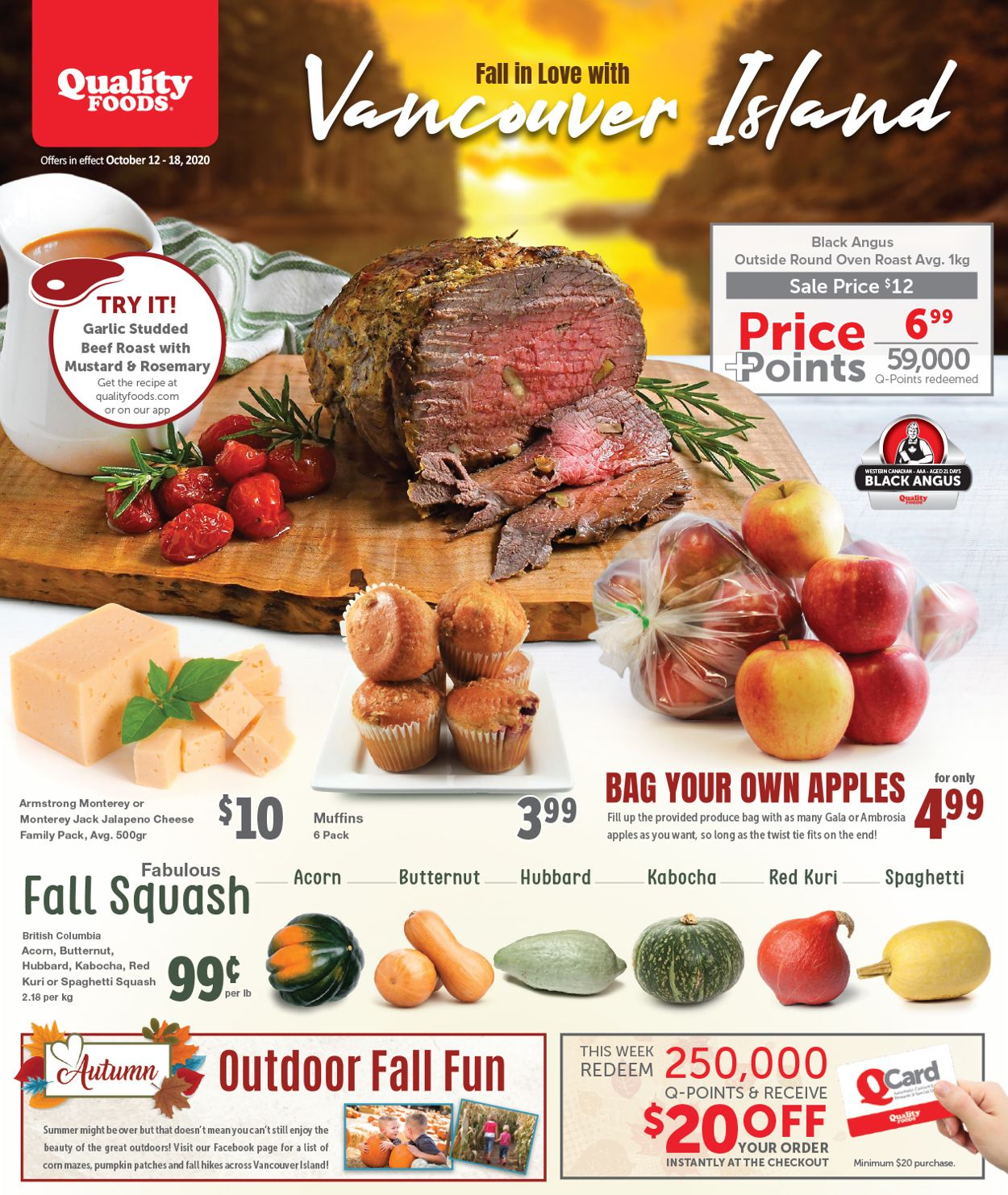 Quality Foods Flyer - 10/12-10/18/2020