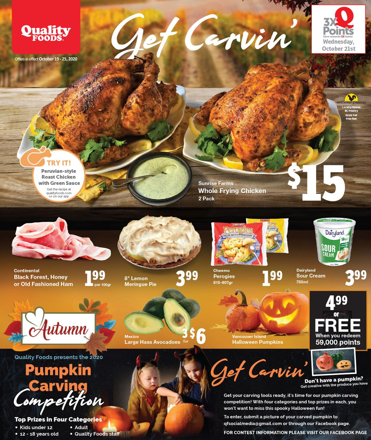 Quality Foods Flyer - 10/19-10/25/2020