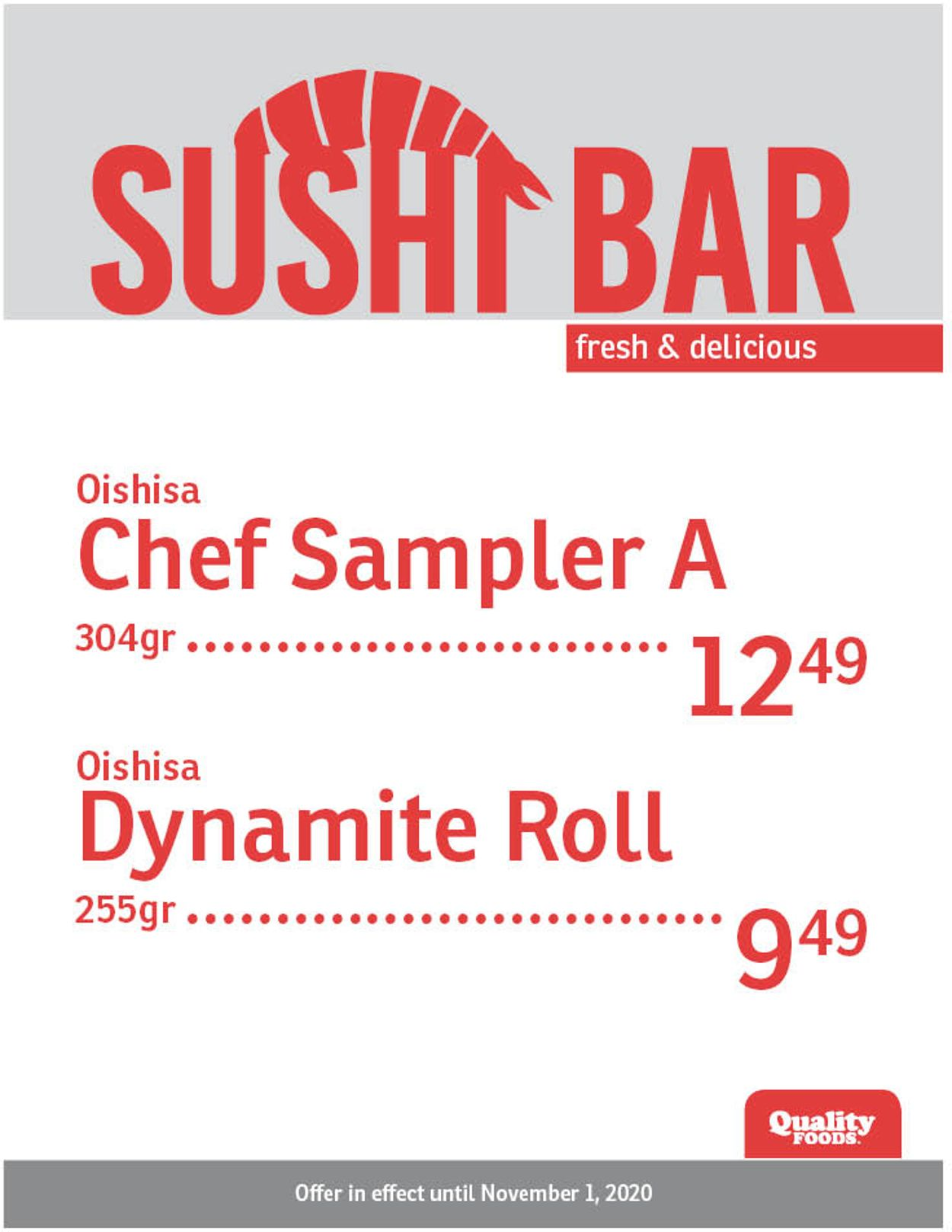 Quality Foods Flyer - 10/26-11/01/2020 (Page 2)
