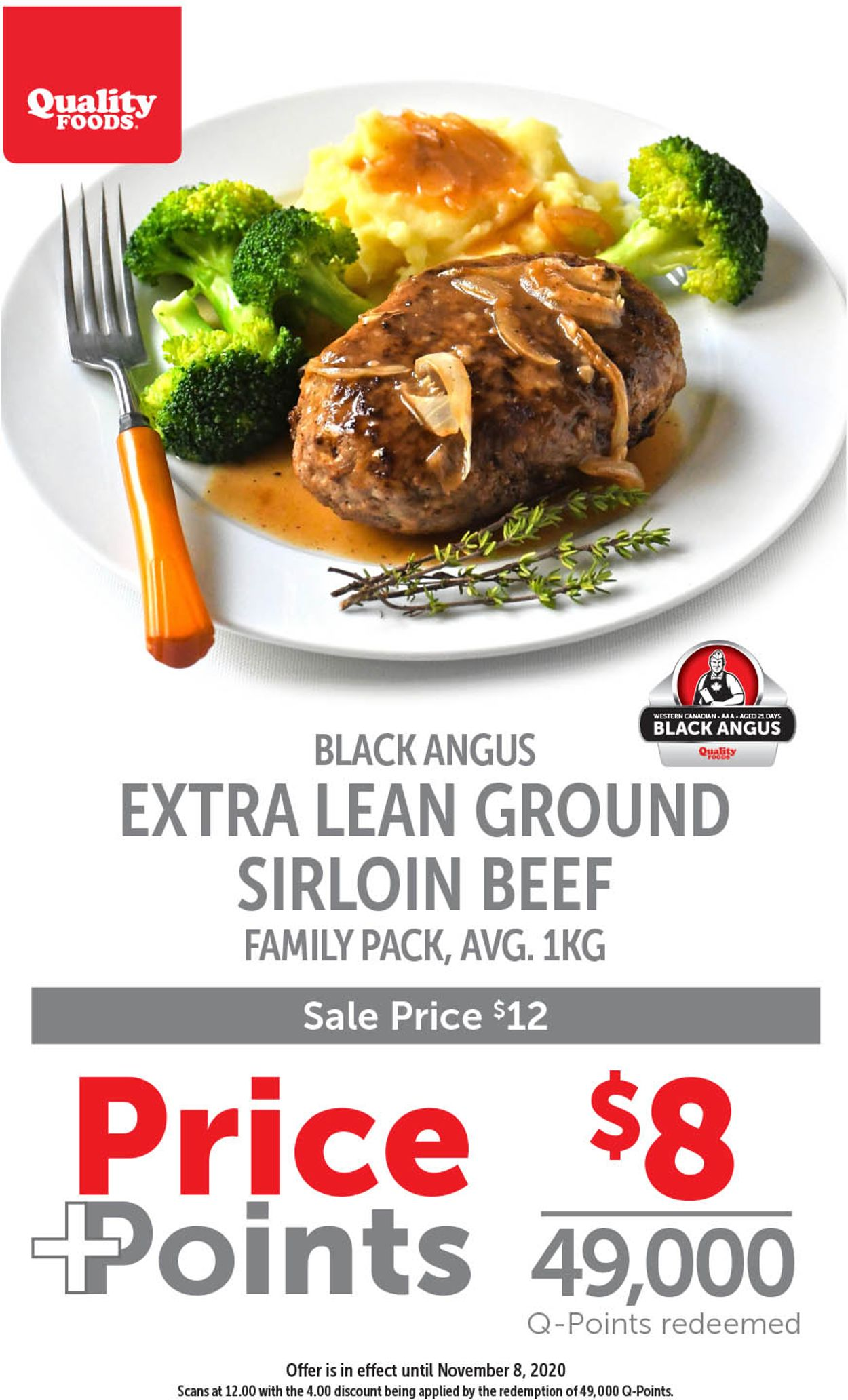 Quality Foods Flyer - 11/02-11/08/2020