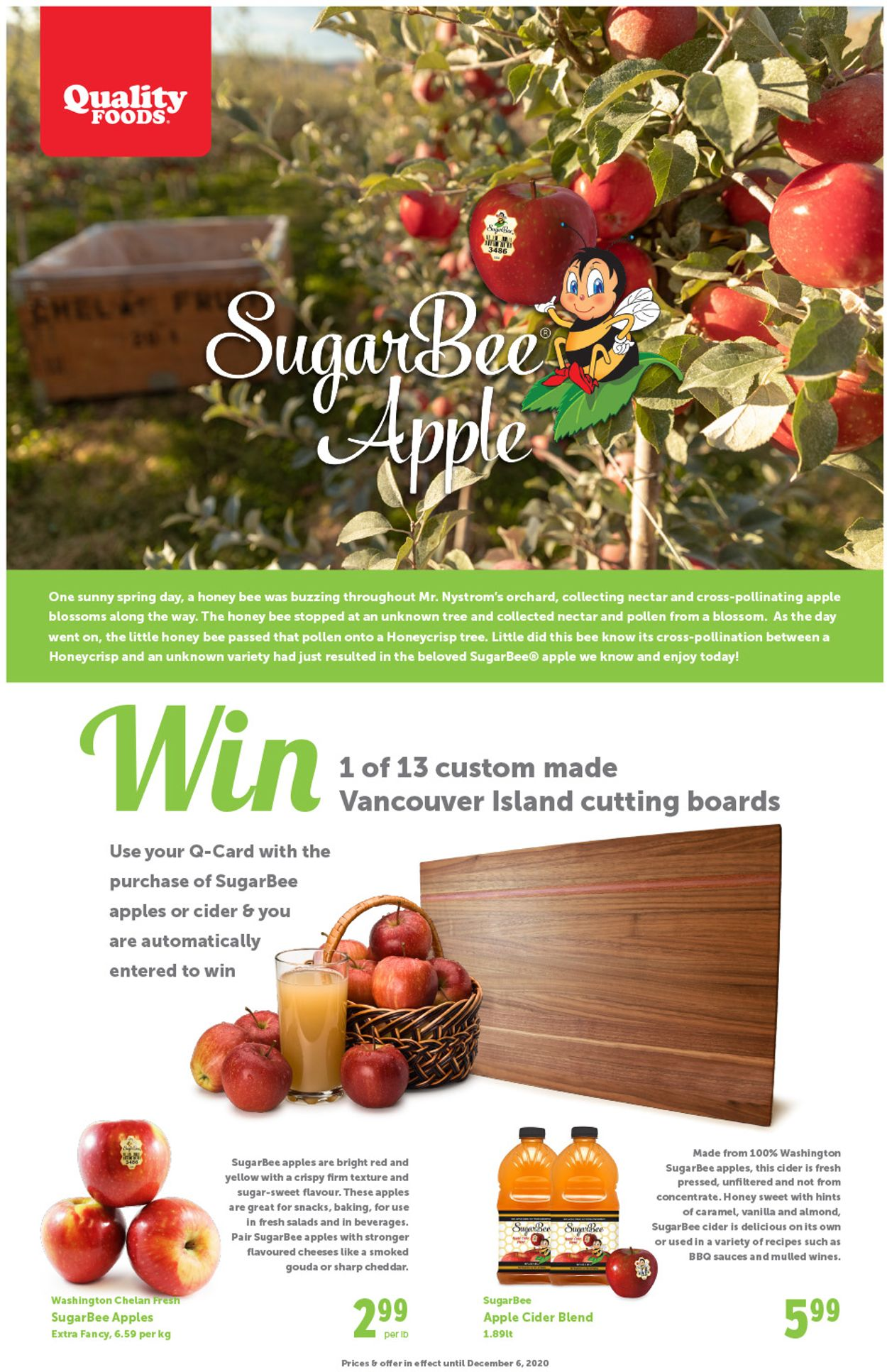 Quality Foods Flyer - 11/30-12/06/2020