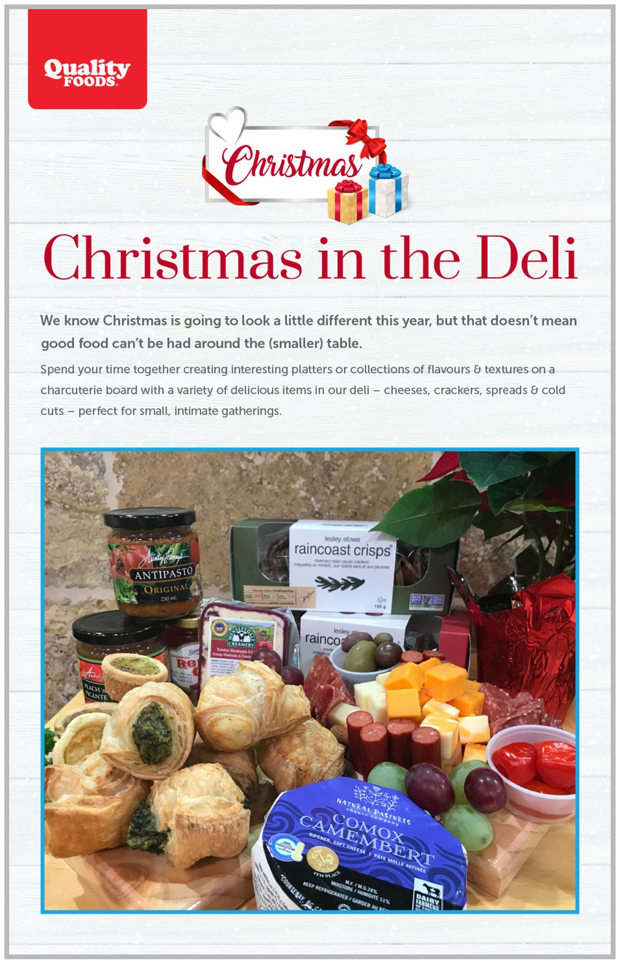 Quality Foods - Christmas 2020 Flyer - 12/02-12/06/2020