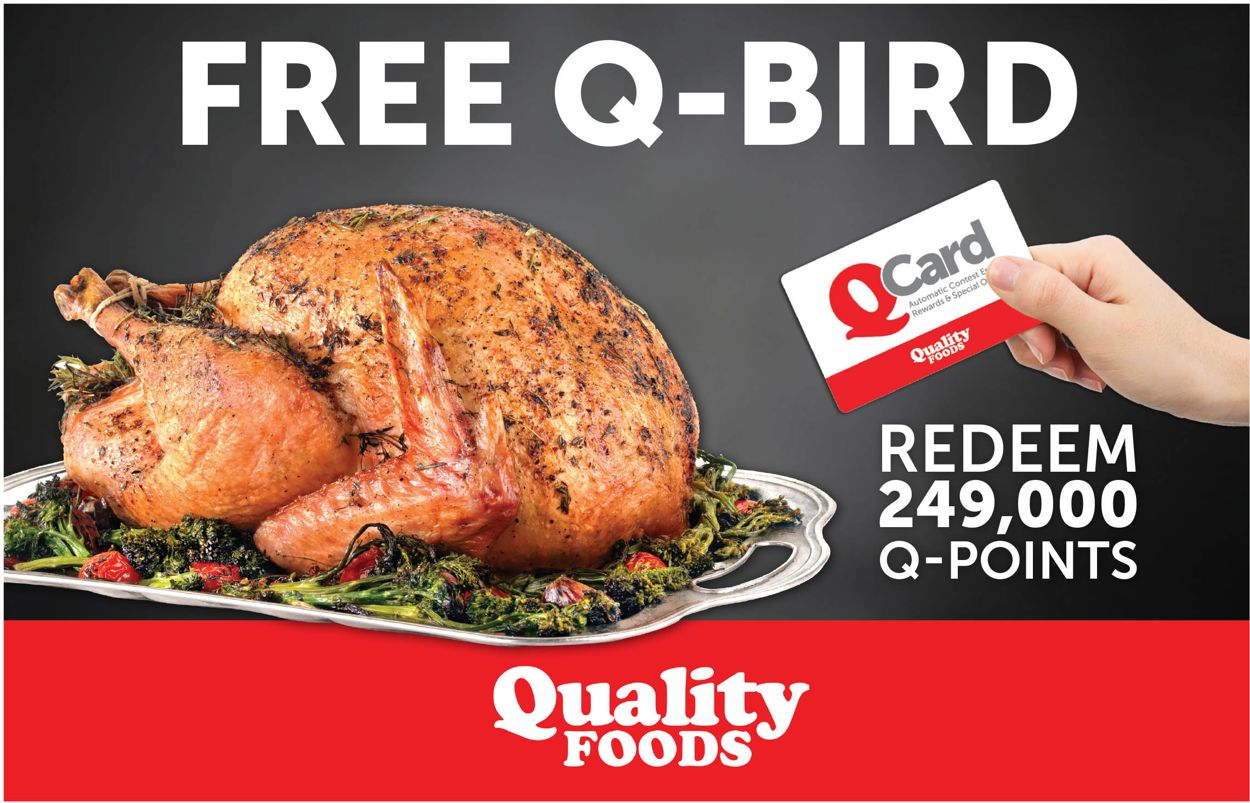 Quality Foods Flyer - 12/14-12/27/2020