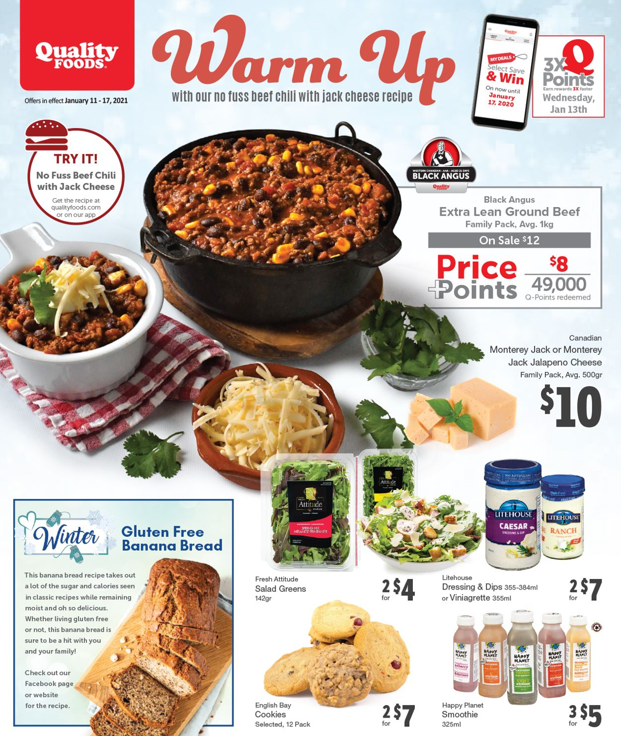 Quality Foods Flyer - 01/11-01/17/2021