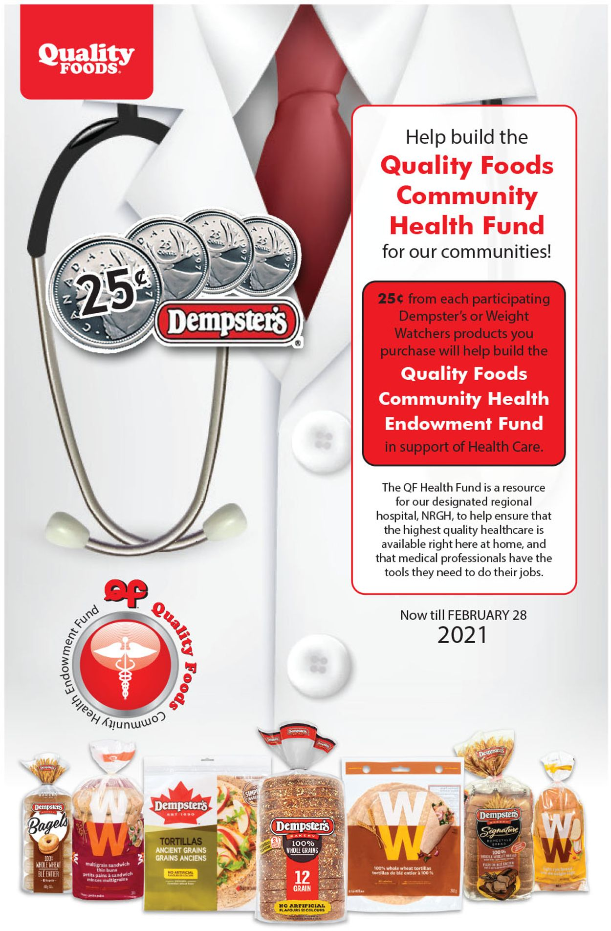 Quality Foods Flyer - 01/01-02/28/2021