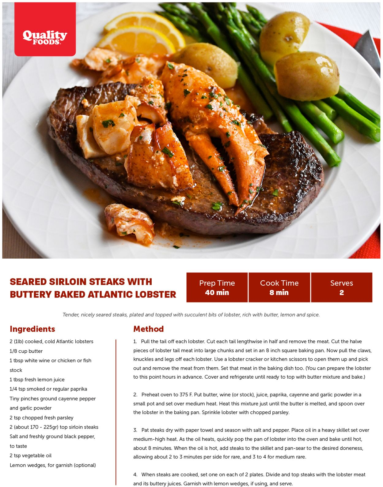 Quality Foods Flyer - 02/08-02/14/2021