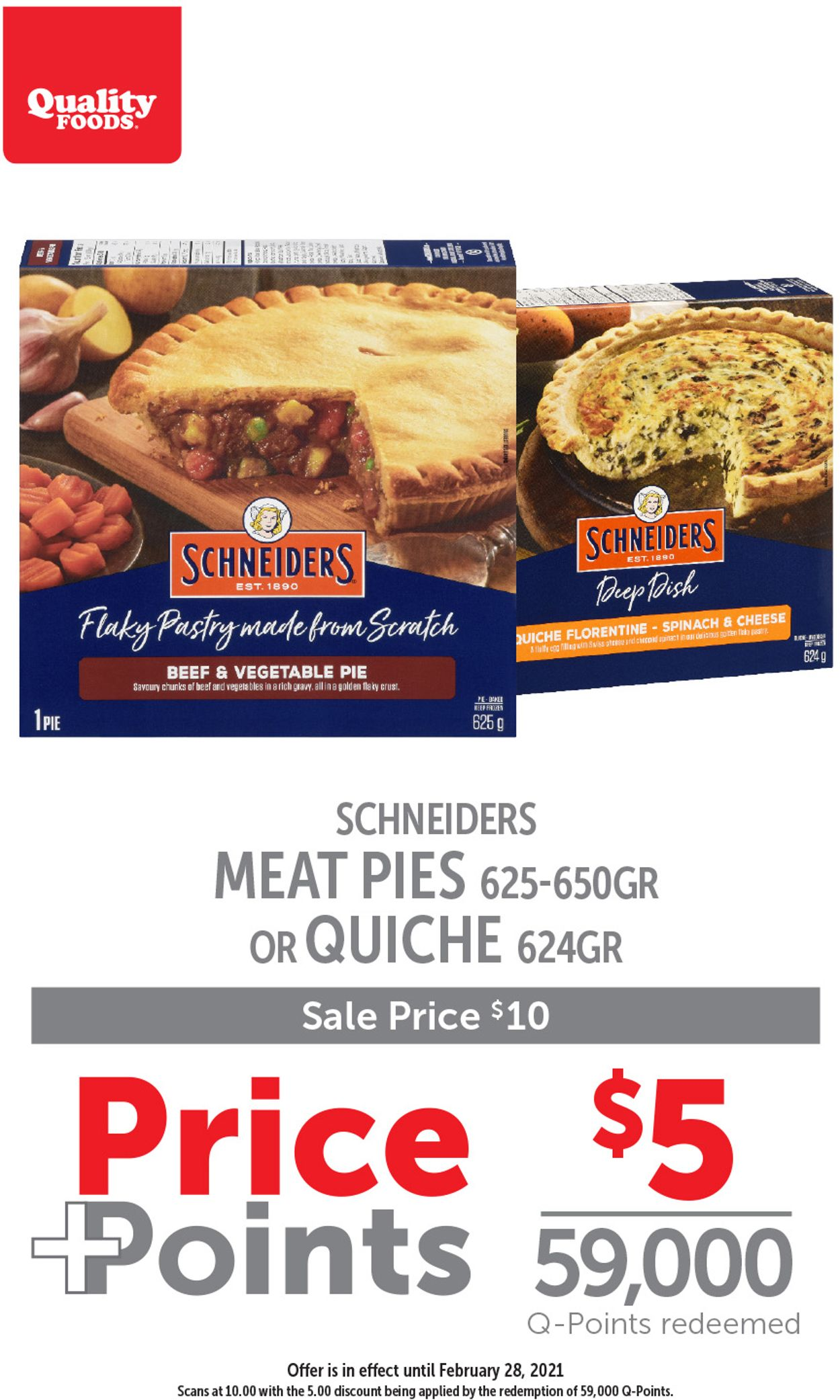 Quality Foods Flyer - 02/22-02/28/2021