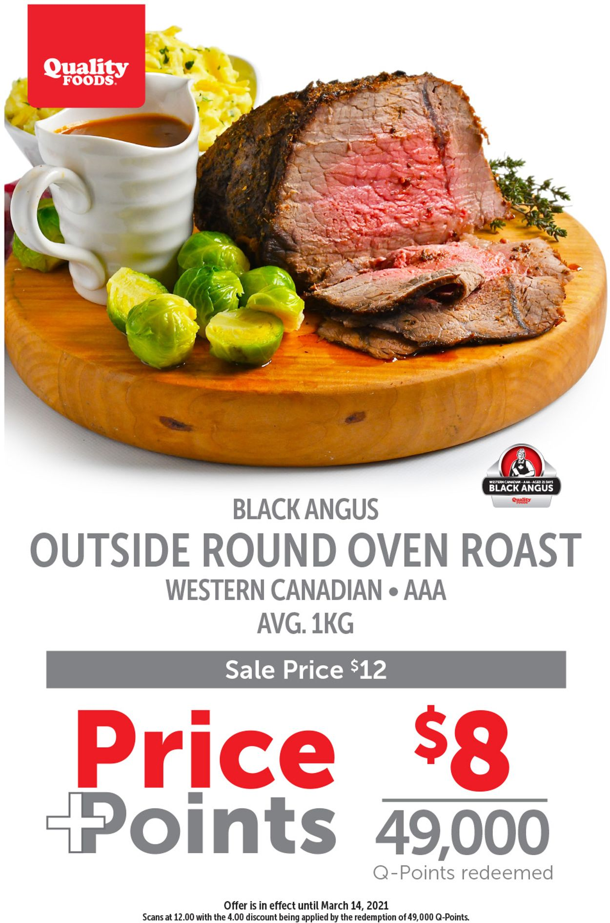 Quality Foods Flyer - 03/08-03/14/2021