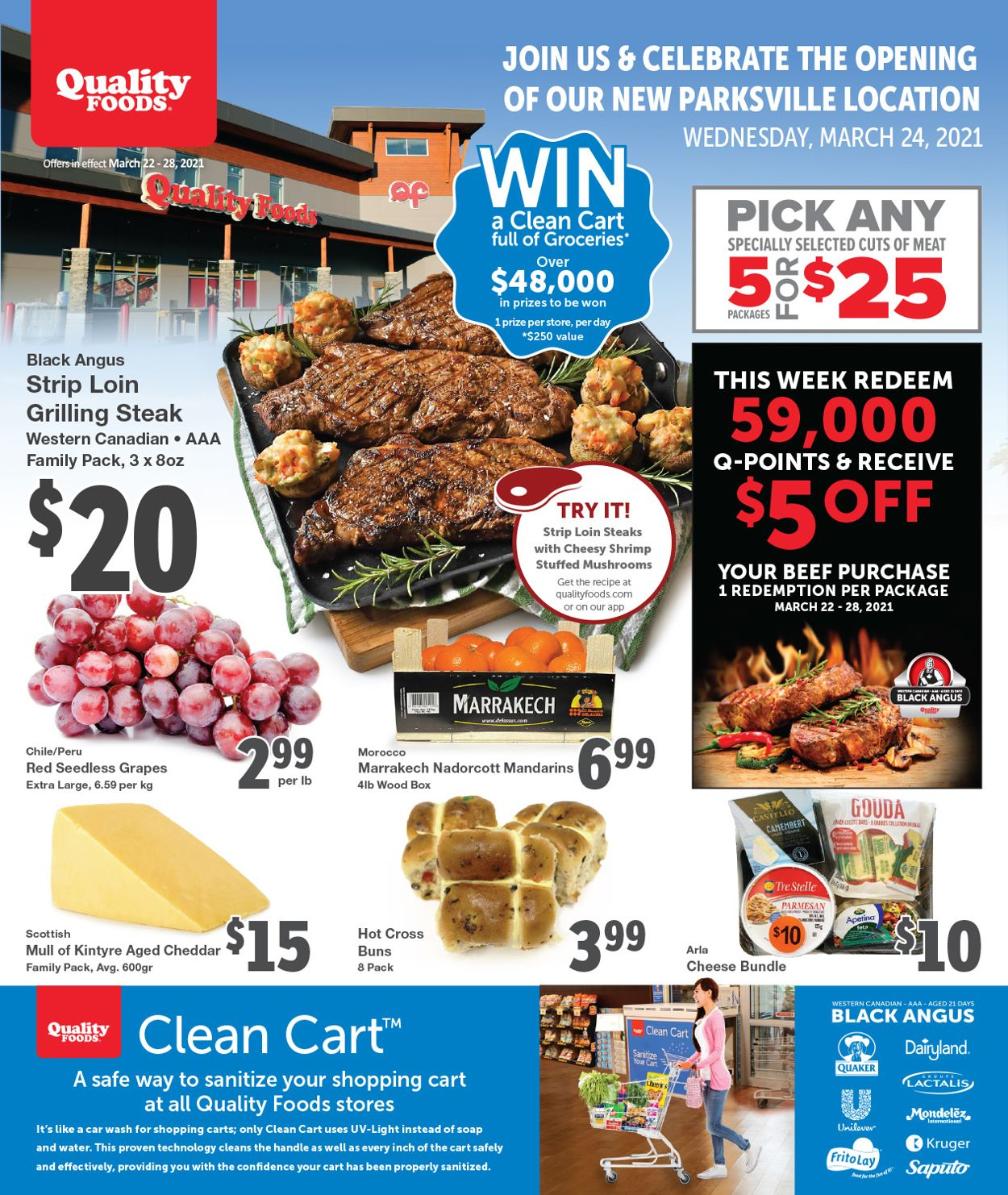 Quality Foods Flyer - 03/22-03/28/2021