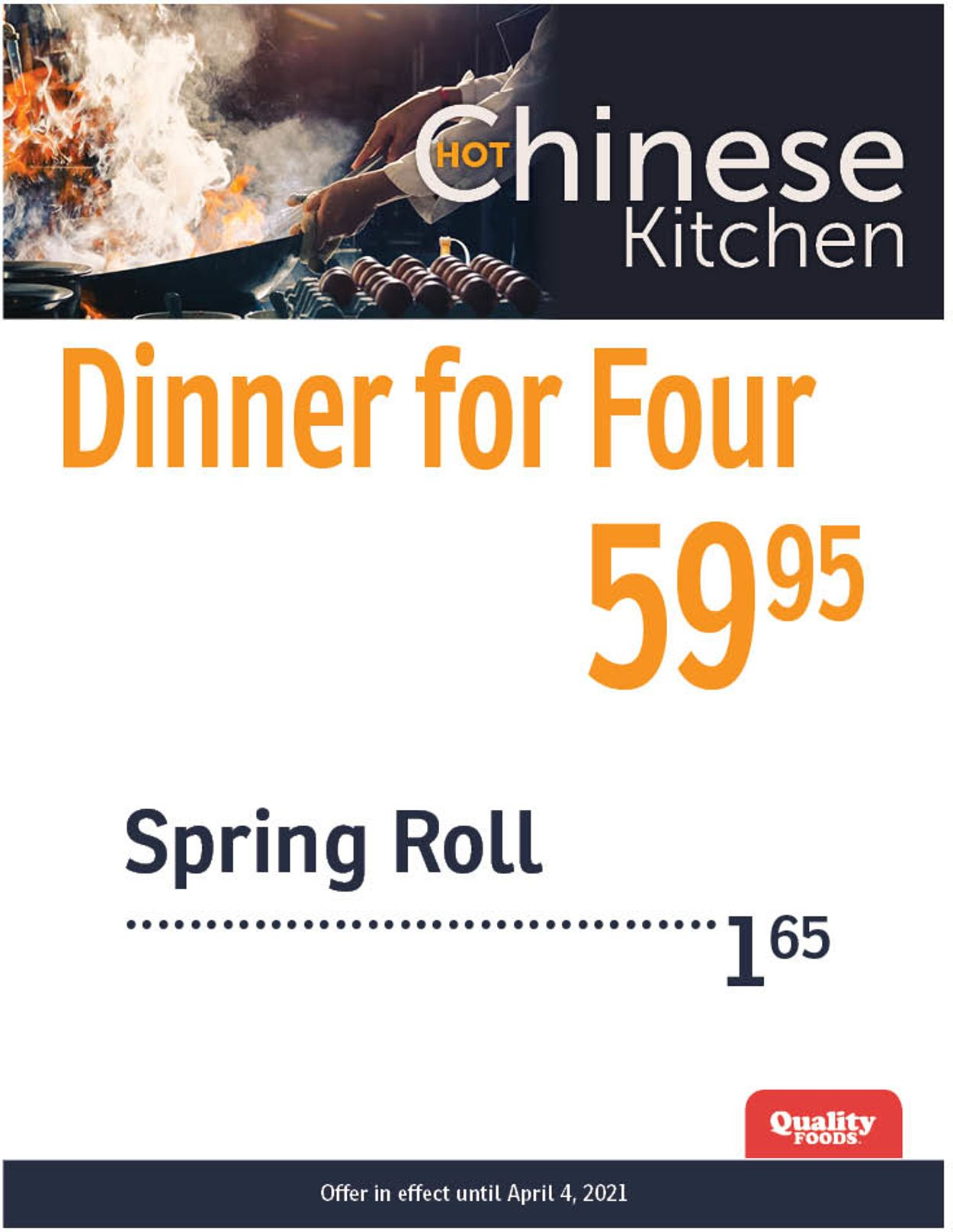 Quality Foods Flyer - 03/29-04/04/2021