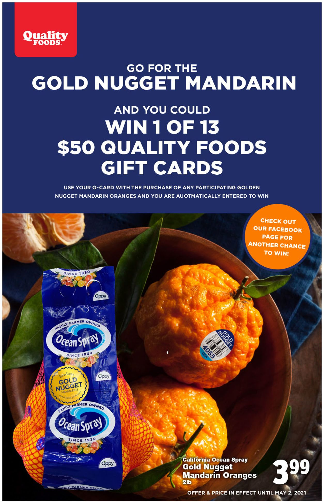 Quality Foods Flyer - 04/26-05/02/2021