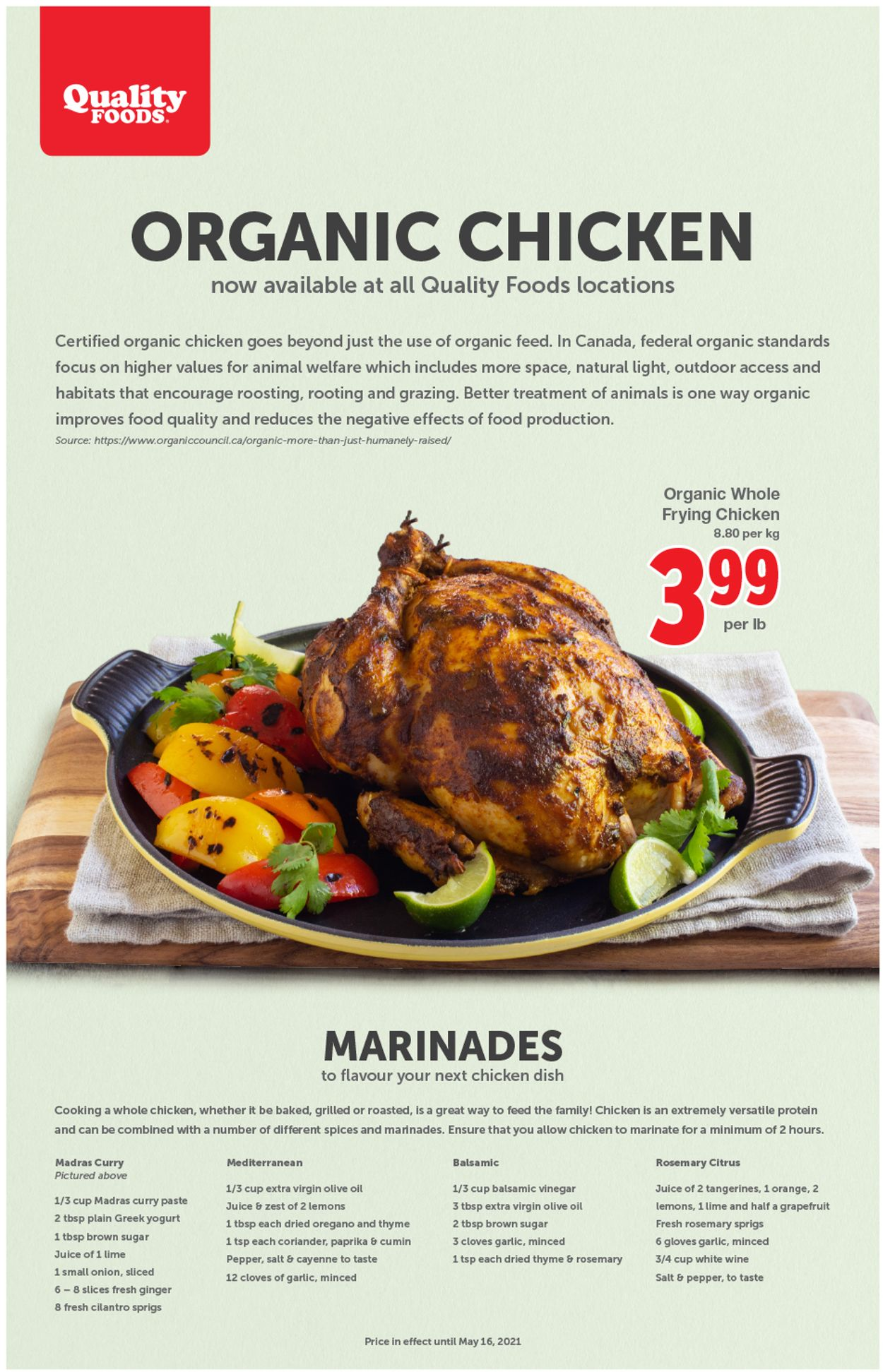 Quality Foods Flyer - 05/10-05/16/2021