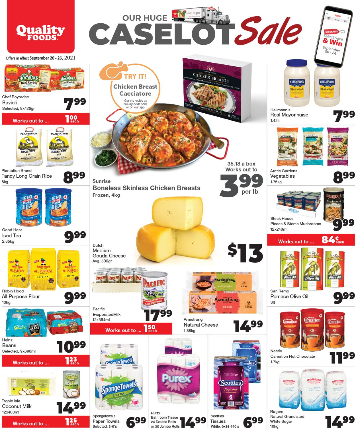 Quality Foods Flyer - 09/20-09/26/2021