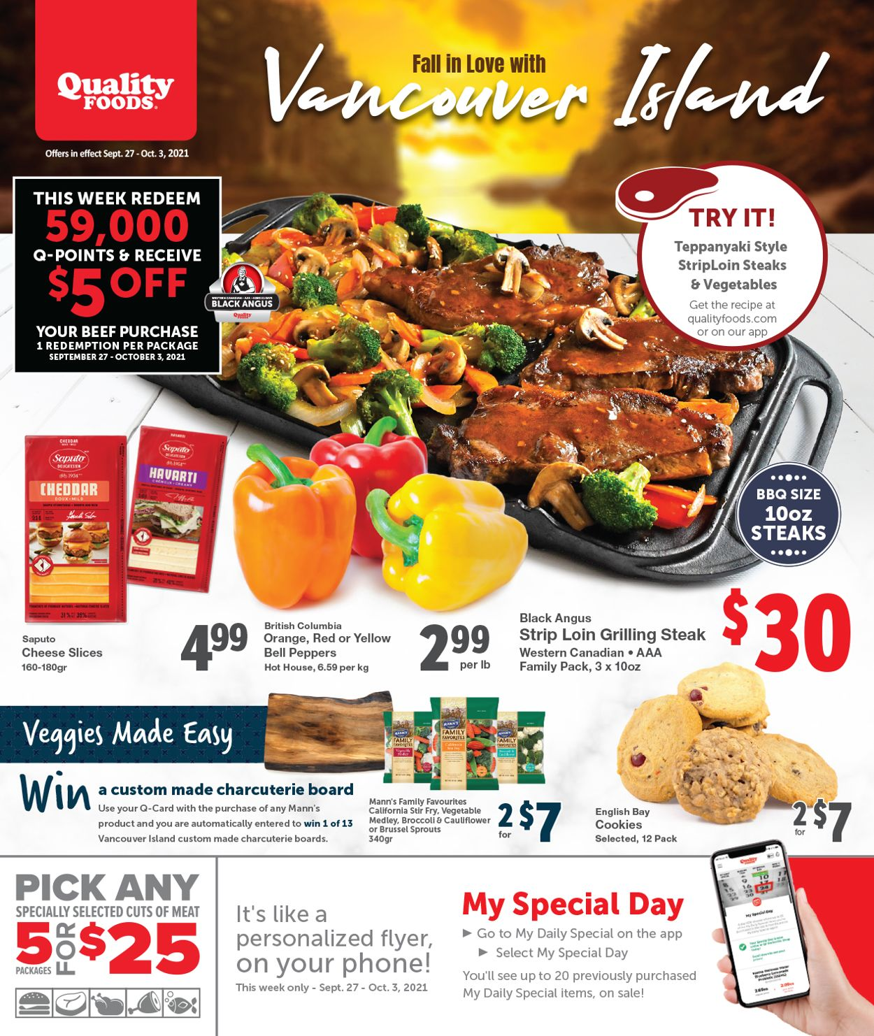 Quality Foods Flyer - 09/27-10/03/2021