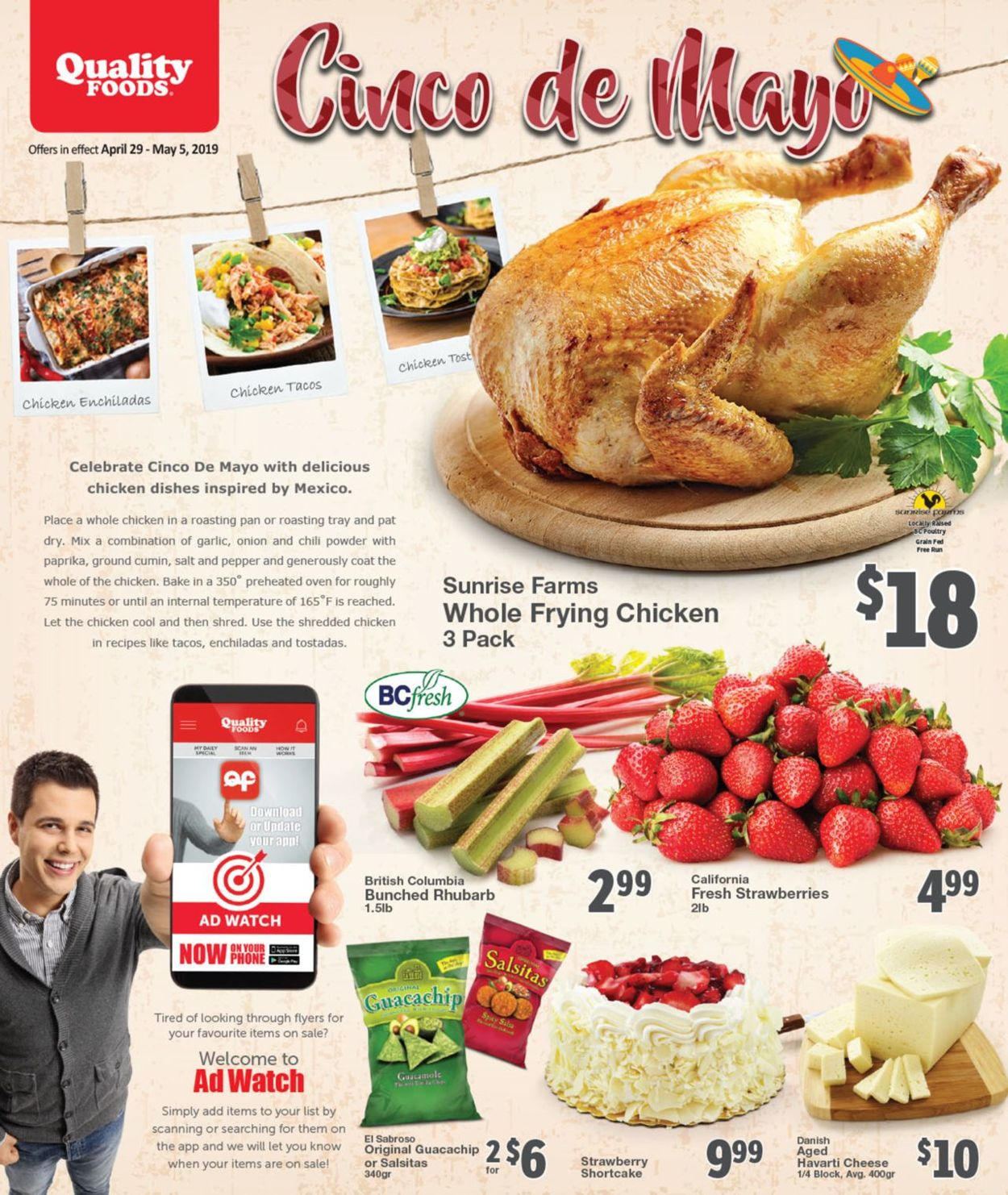 Quality Foods Flyer - 04/29-05/05/2019