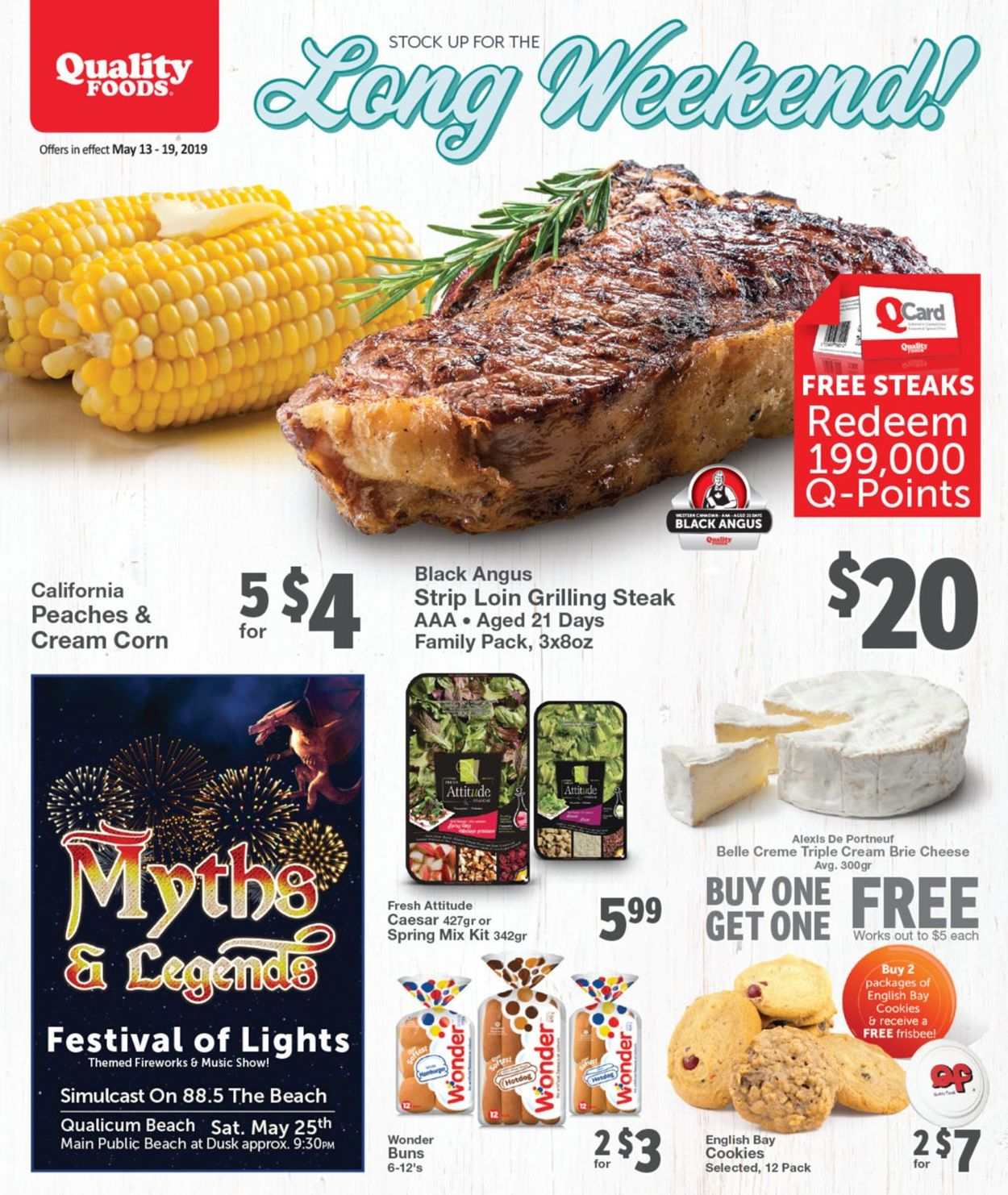 Quality Foods Flyer - 05/13-05/19/2019