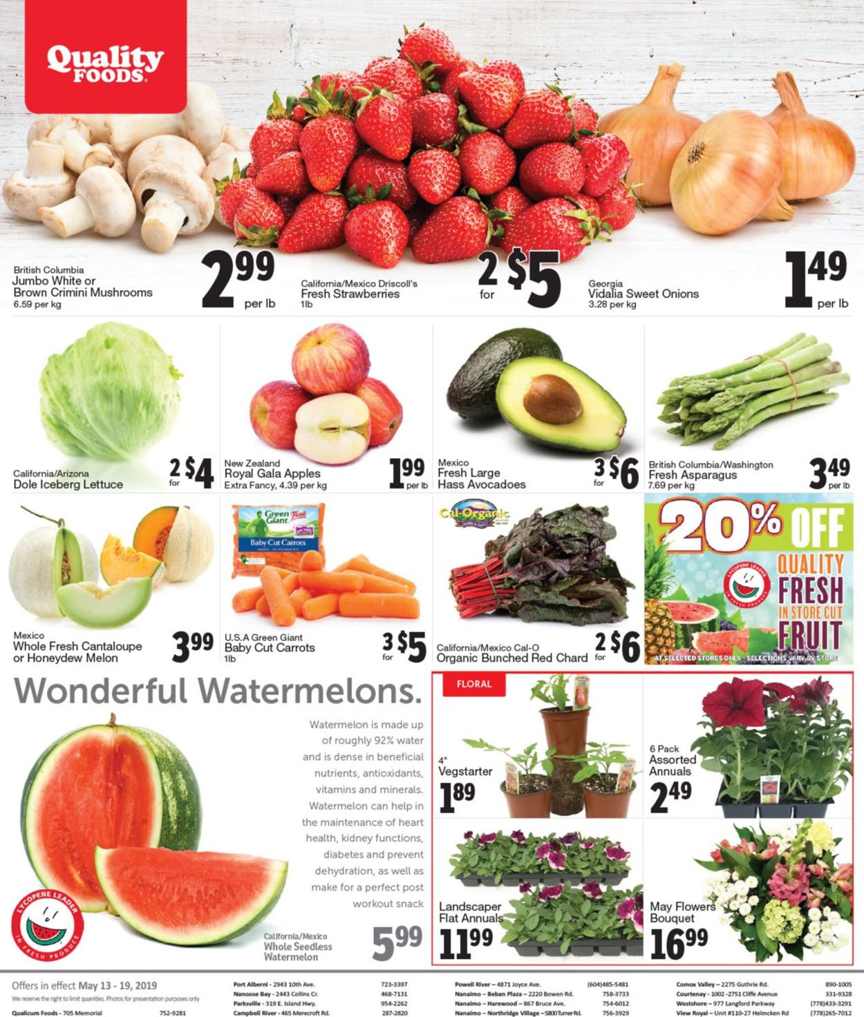 Quality Foods Flyer - 05/13-05/19/2019 (Page 8)