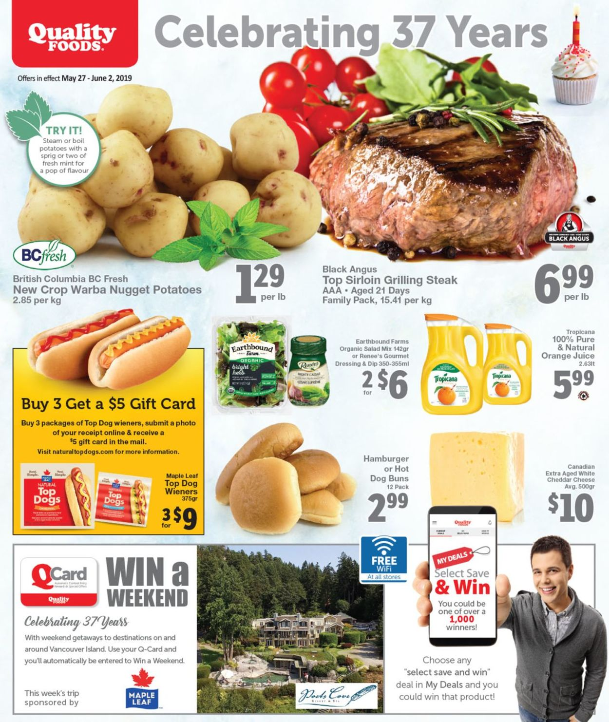 Quality Foods Flyer - 05/27-06/02/2019