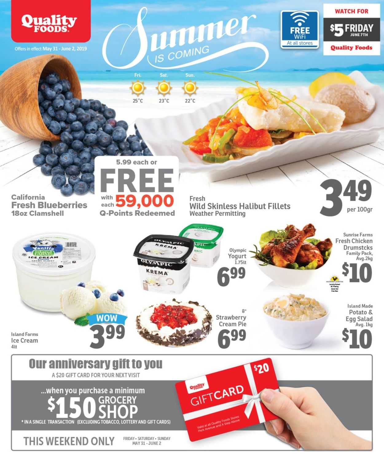Quality Foods Flyer - 05/31-06/02/2019