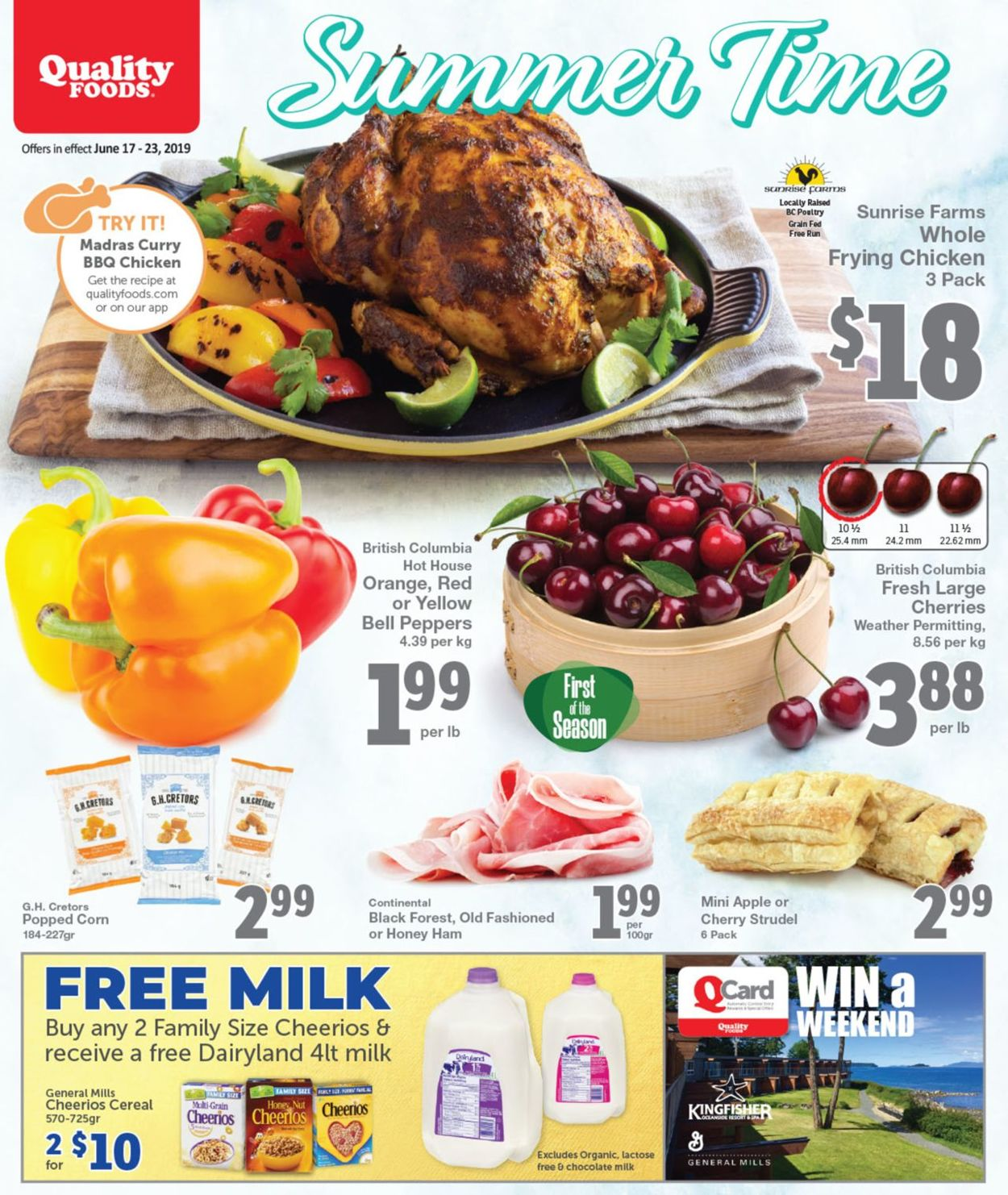 Quality Foods Flyer - 06/17-06/23/2019