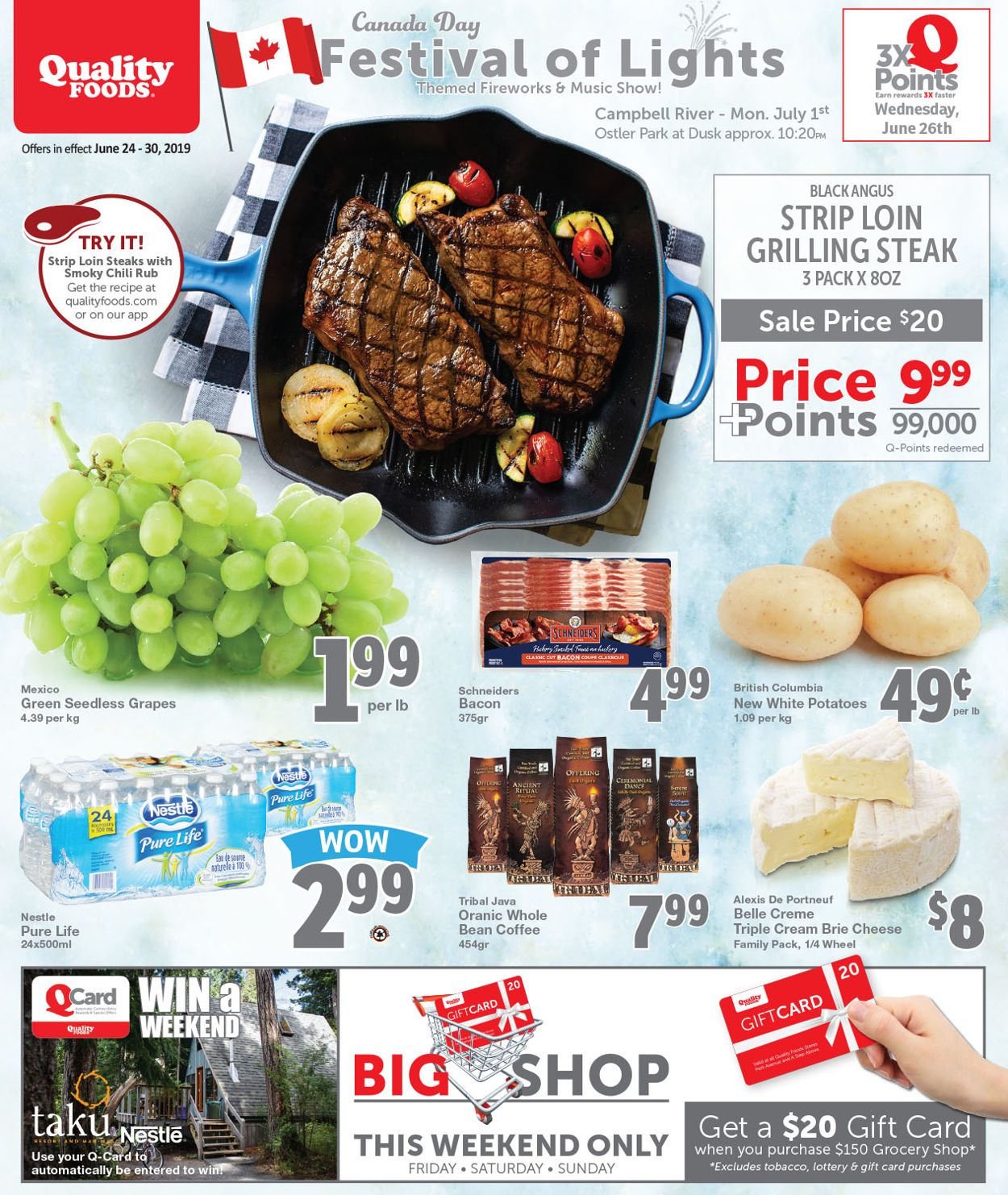 Quality Foods Flyer - 06/24-06/30/2019
