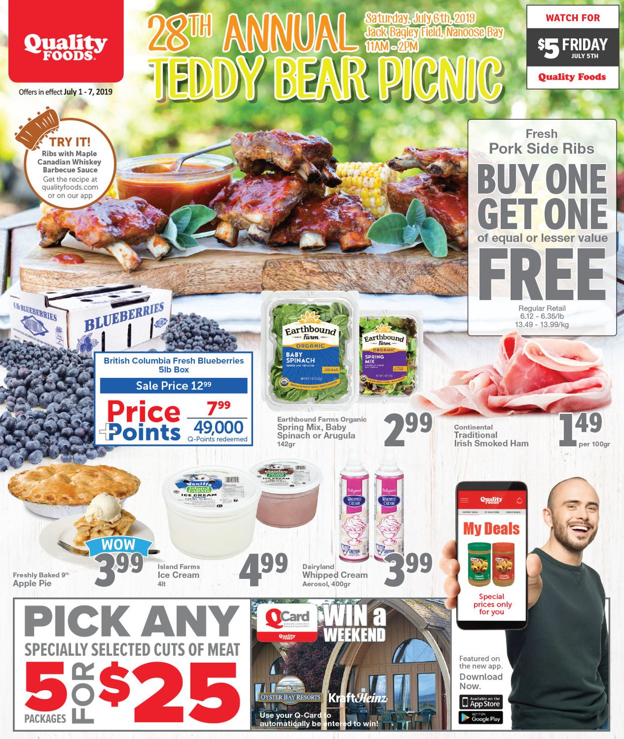 Quality Foods Flyer - 07/01-07/07/2019