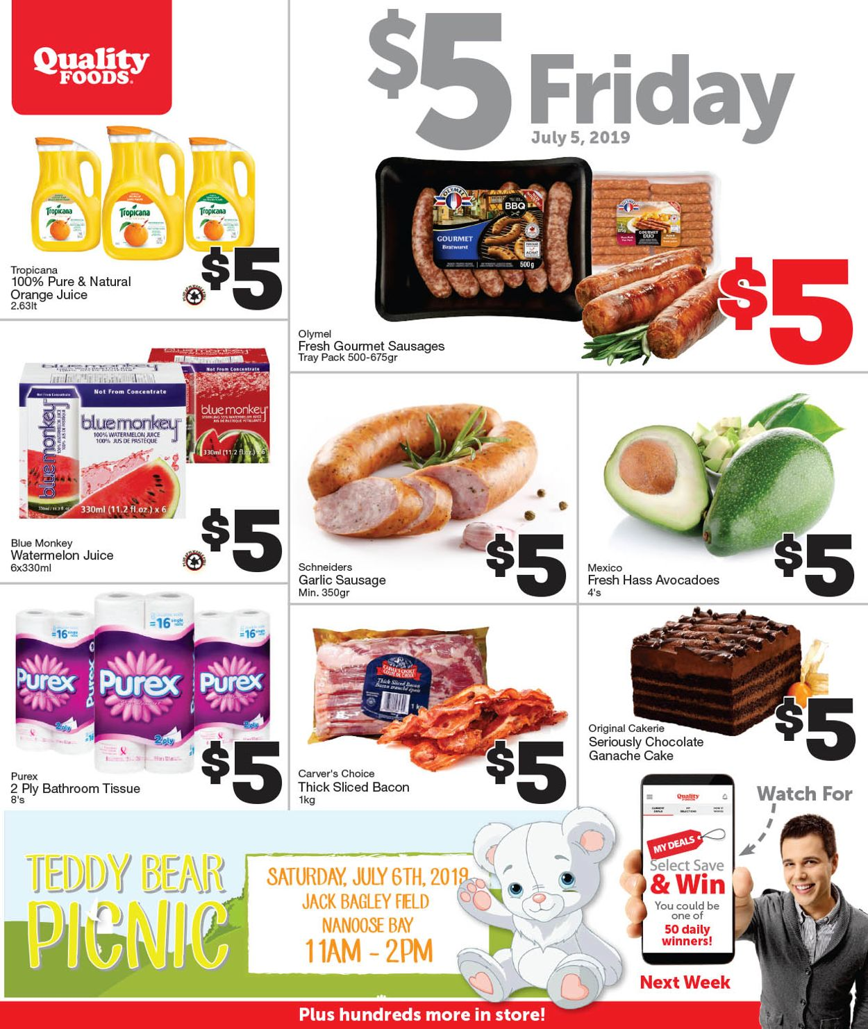 Quality Foods Flyer - 07/05-07/05/2019
