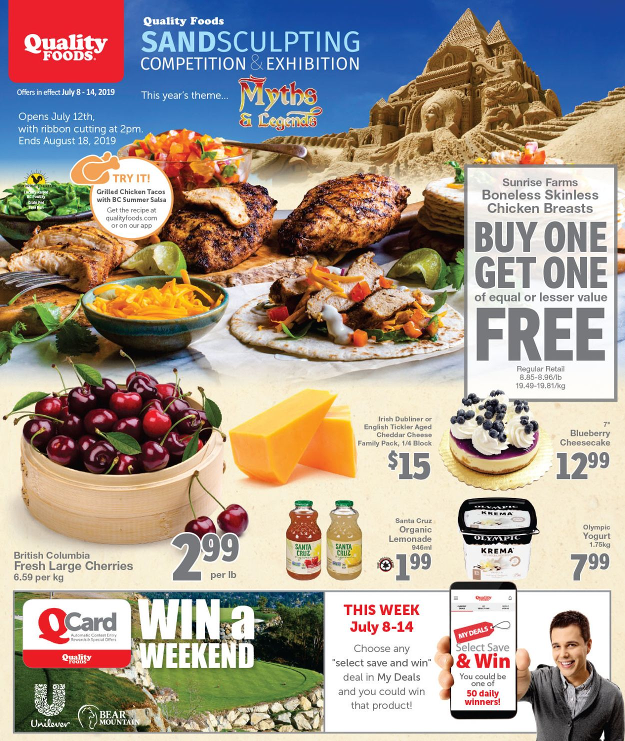 Quality Foods Flyer - 07/08-07/14/2019