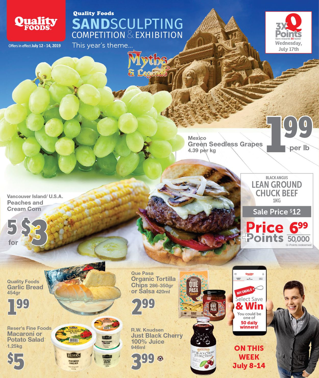 Quality Foods Flyer - 07/12-07/14/2019