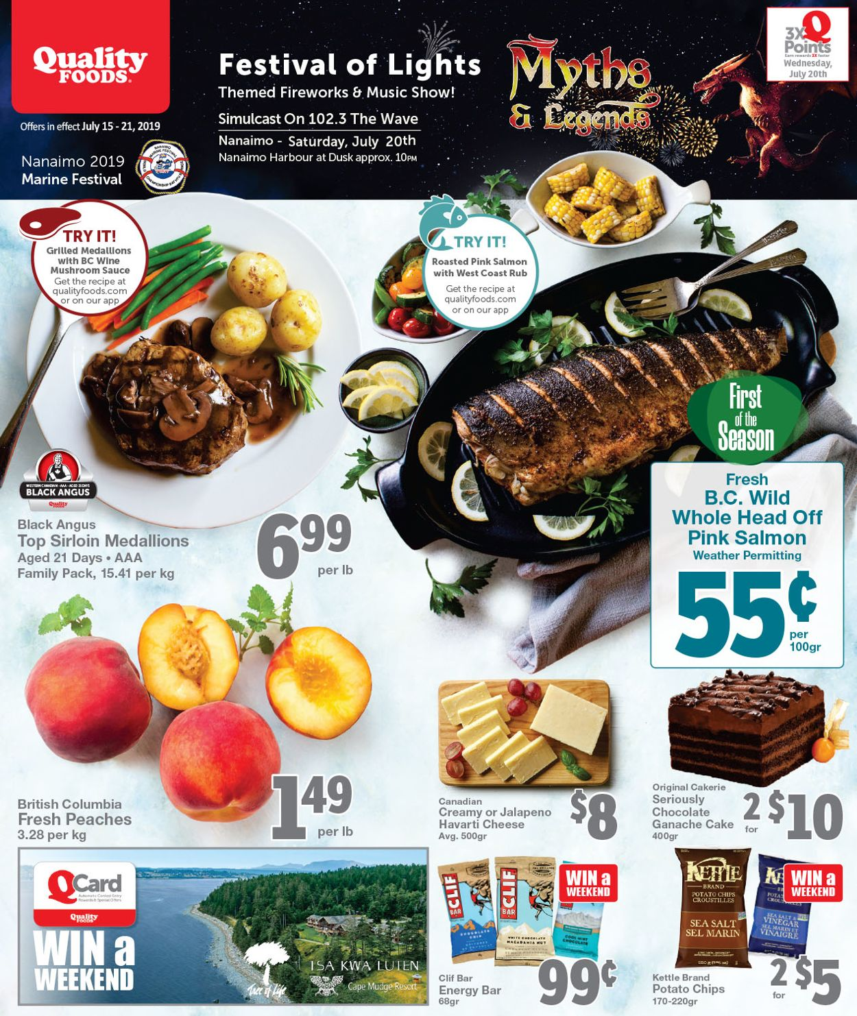 Quality Foods Flyer - 07/15-07/21/2019