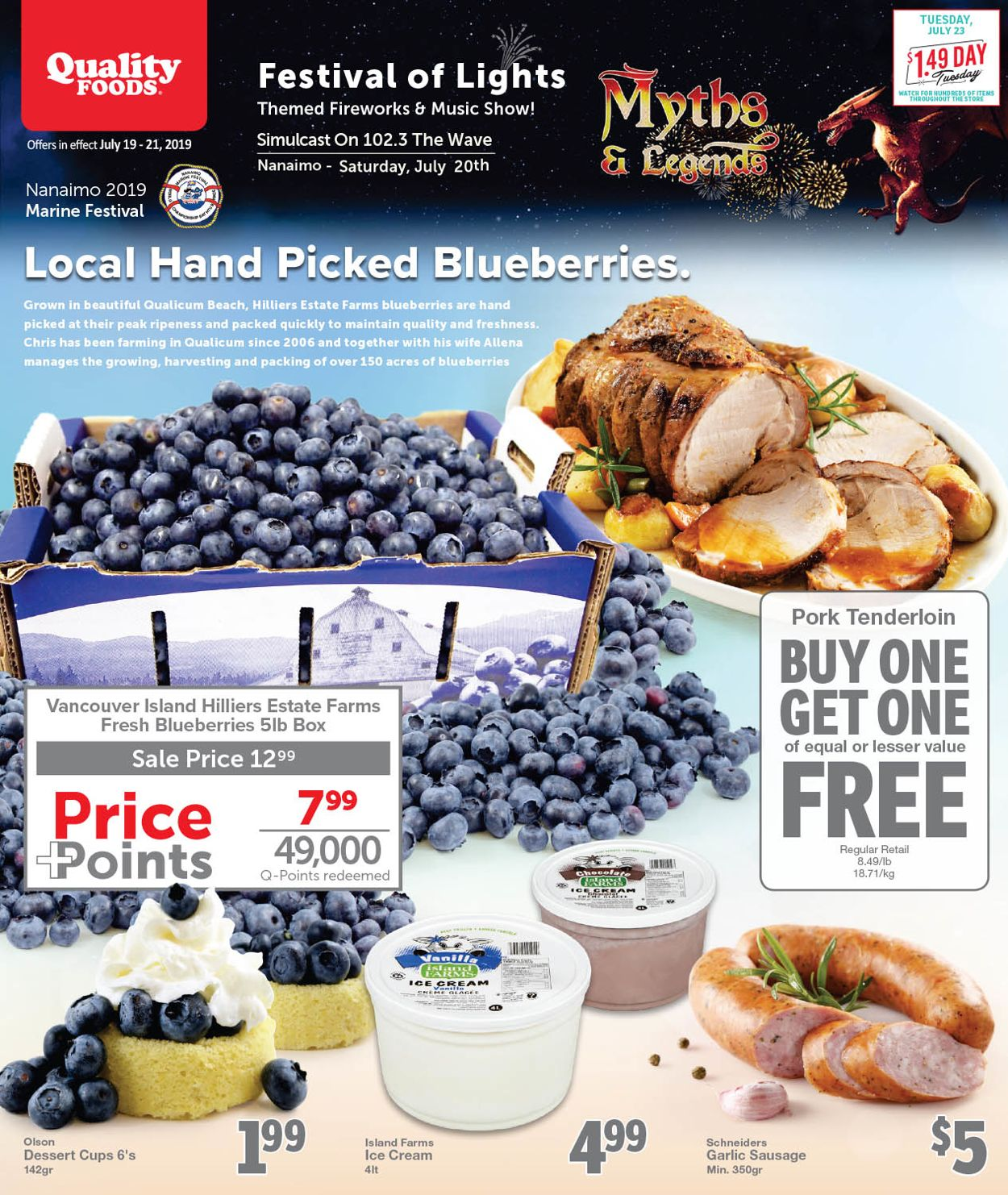 Quality Foods Flyer - 07/19-07/21/2019
