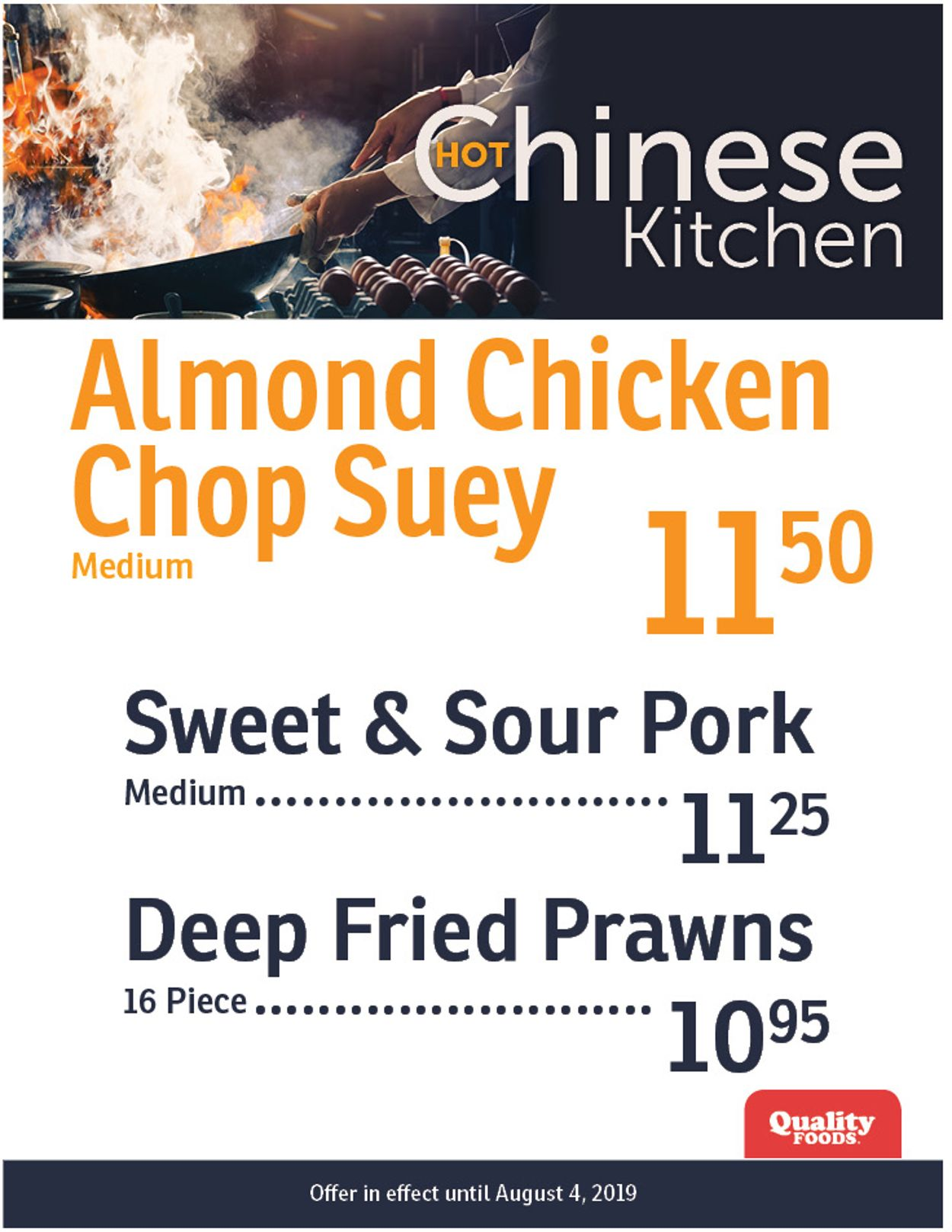 Quality Foods Flyer - 07/29-08/04/2019