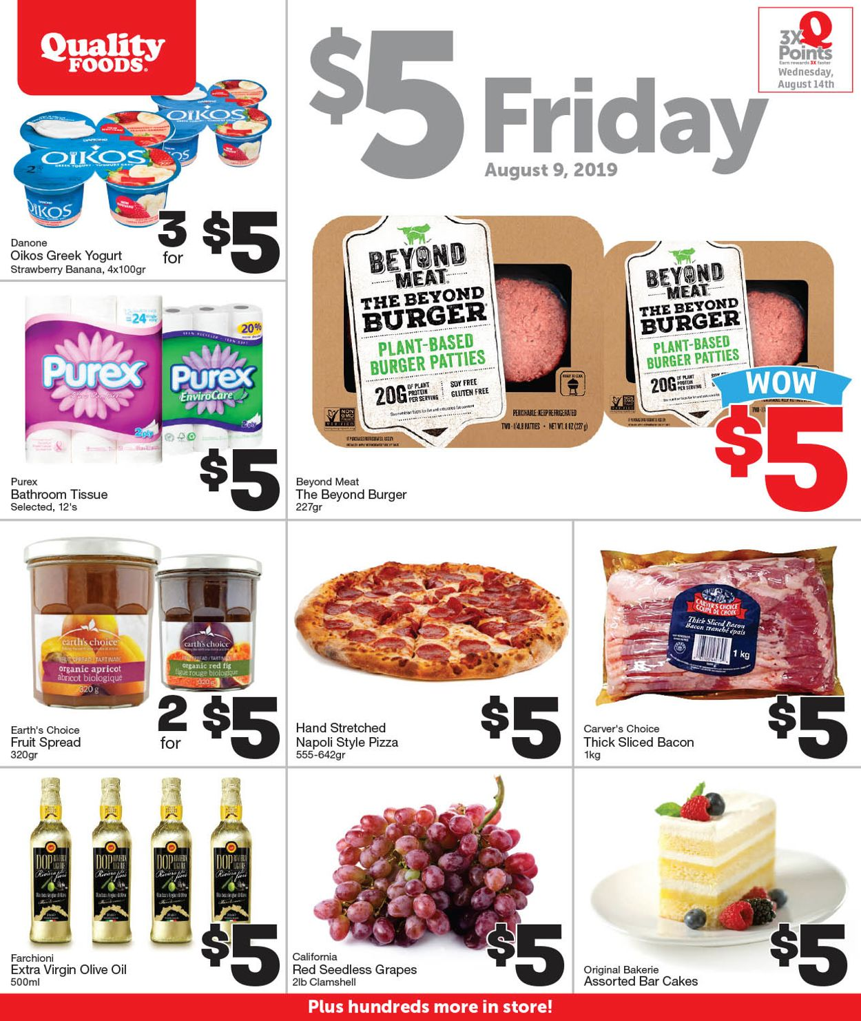 Quality Foods Flyer - 08/09-08/09/2019