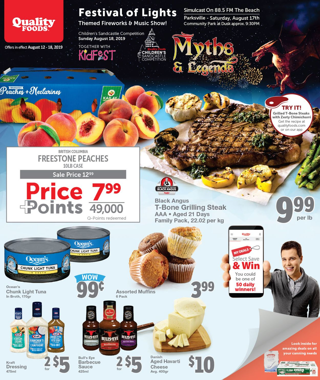 Quality Foods Flyer - 08/12-08/18/2019