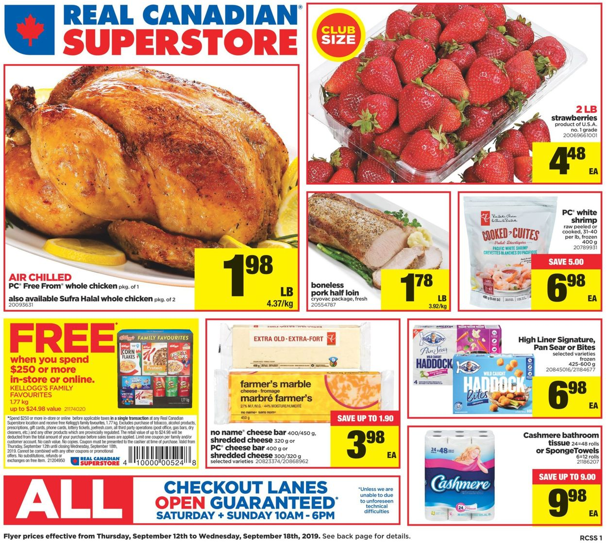 Real Canadian Superstore Flyer - 09/12-09/18/2019