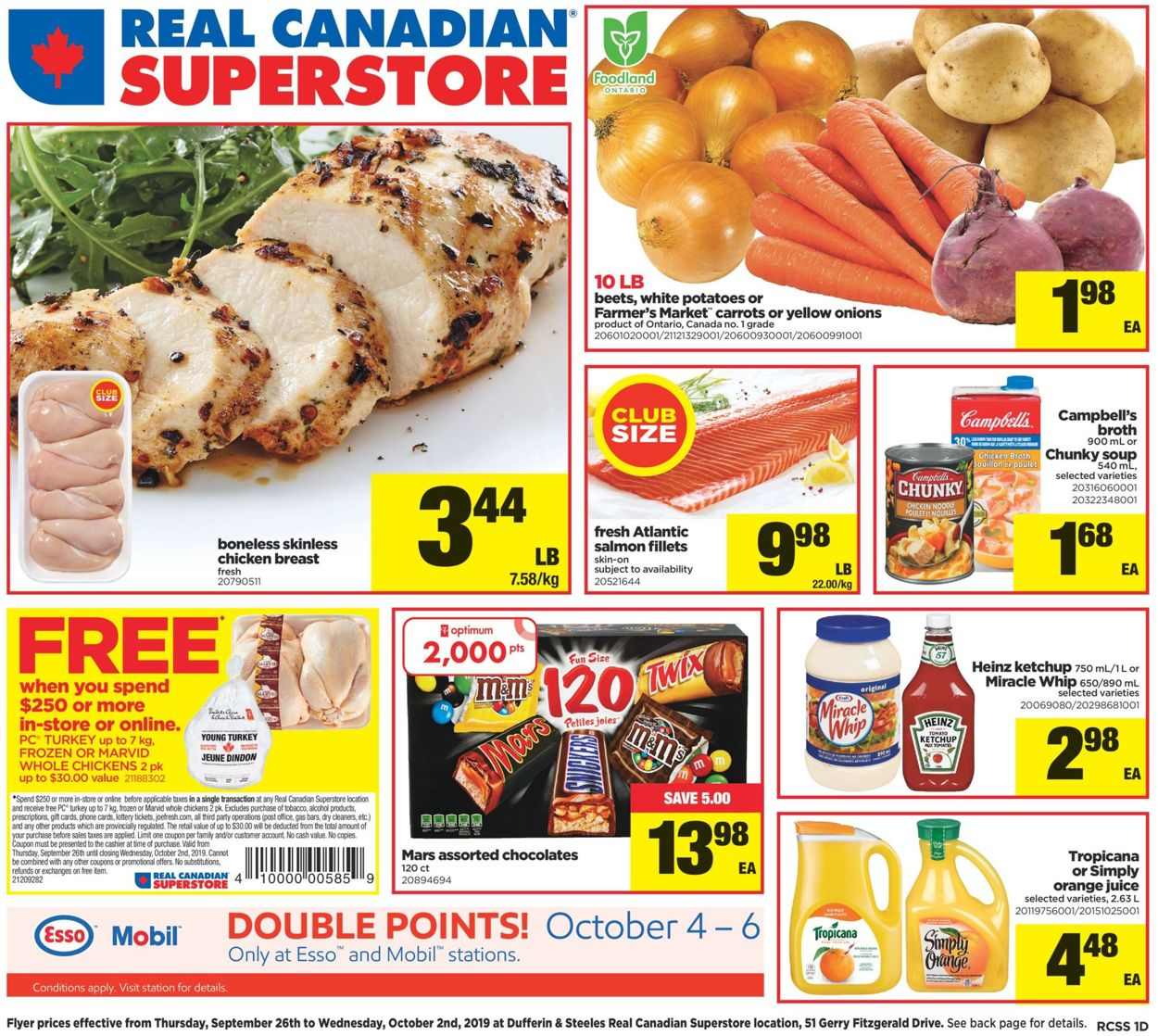 Real Canadian Superstore Flyer - 09/26-10/02/2019