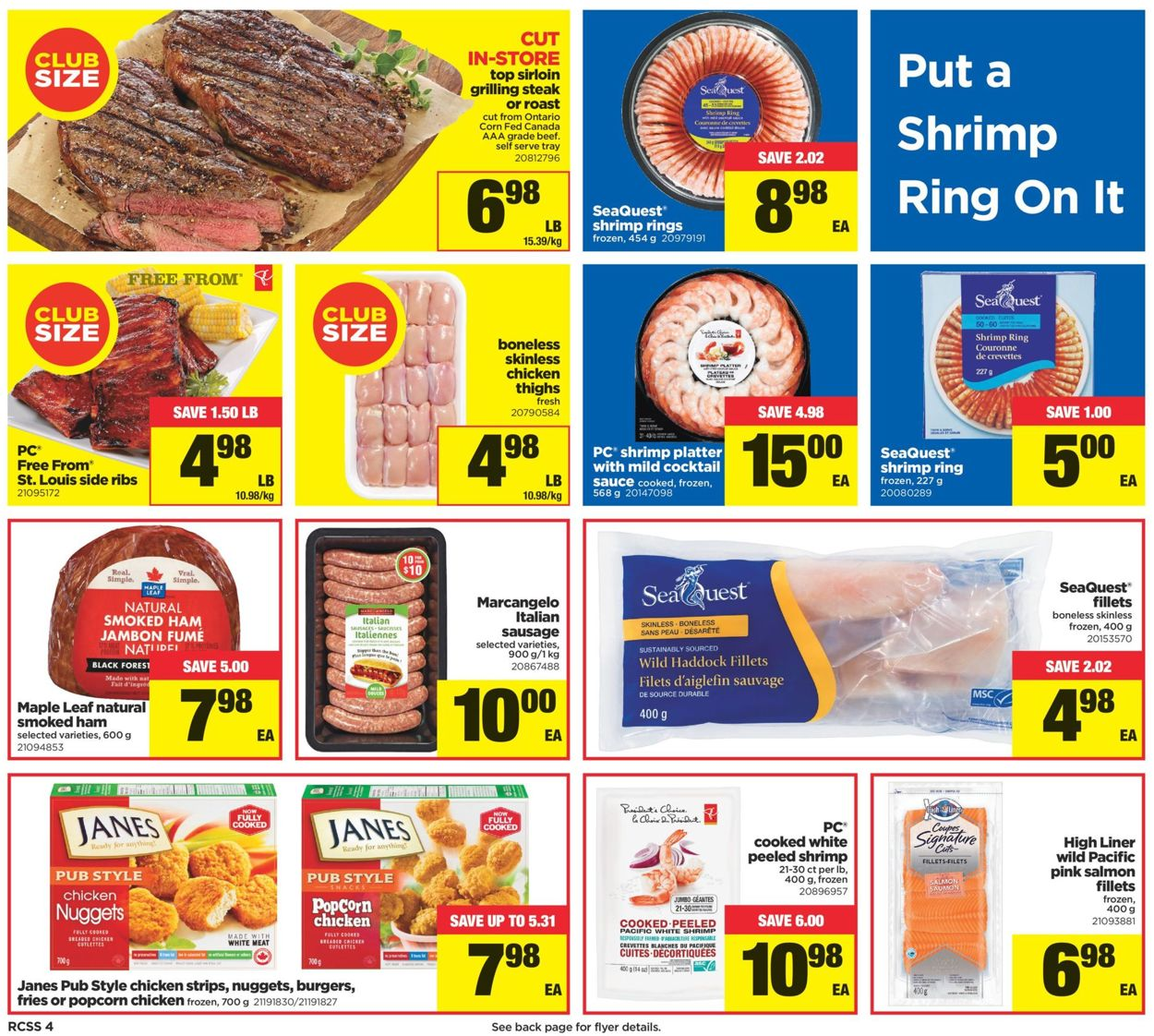 Real Canadian Superstore Flyer - 09/26-10/02/2019 (Page 4)